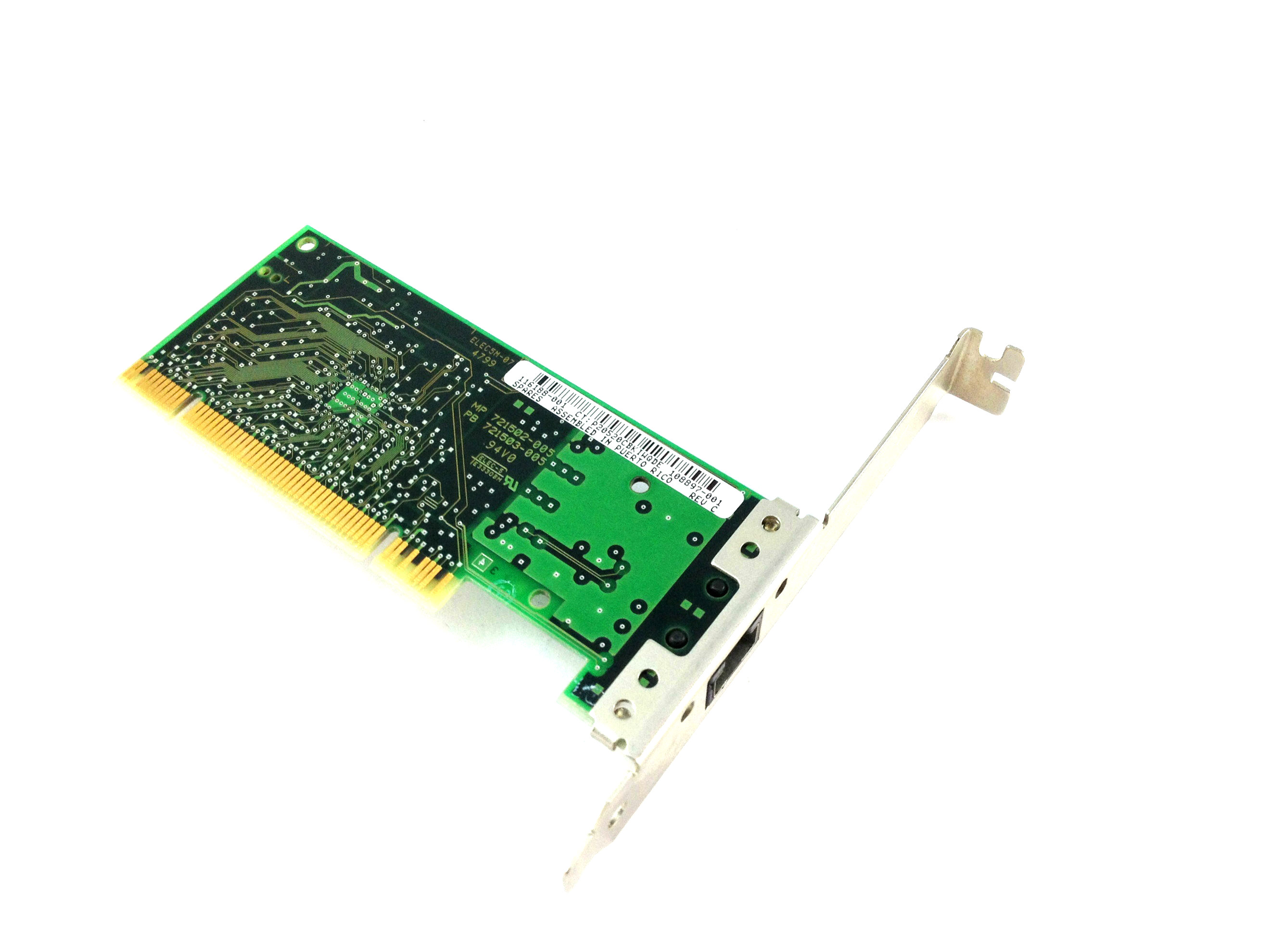 Compaq 108897-001 Revision C Network Card 116188-001 (116188-001)