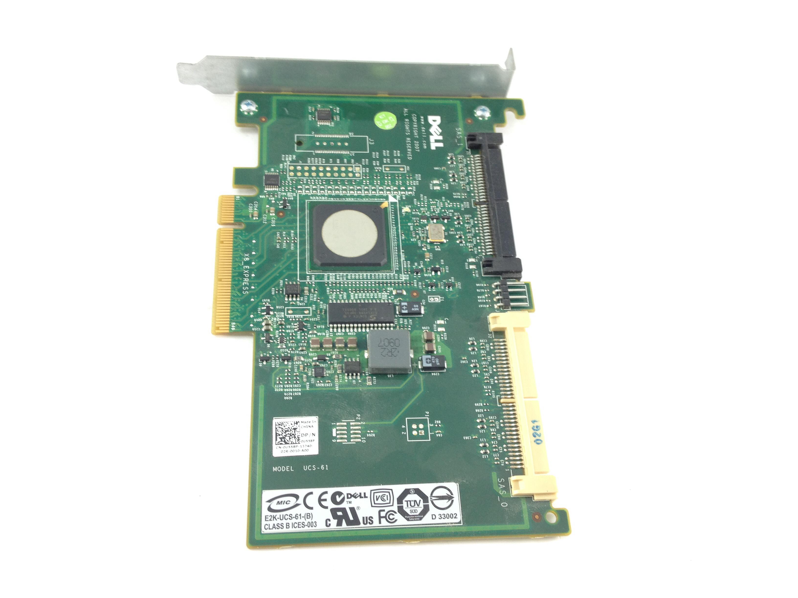 DELL SAS 6/IR RAID CONTROLLER FOR R510 (U558P)
