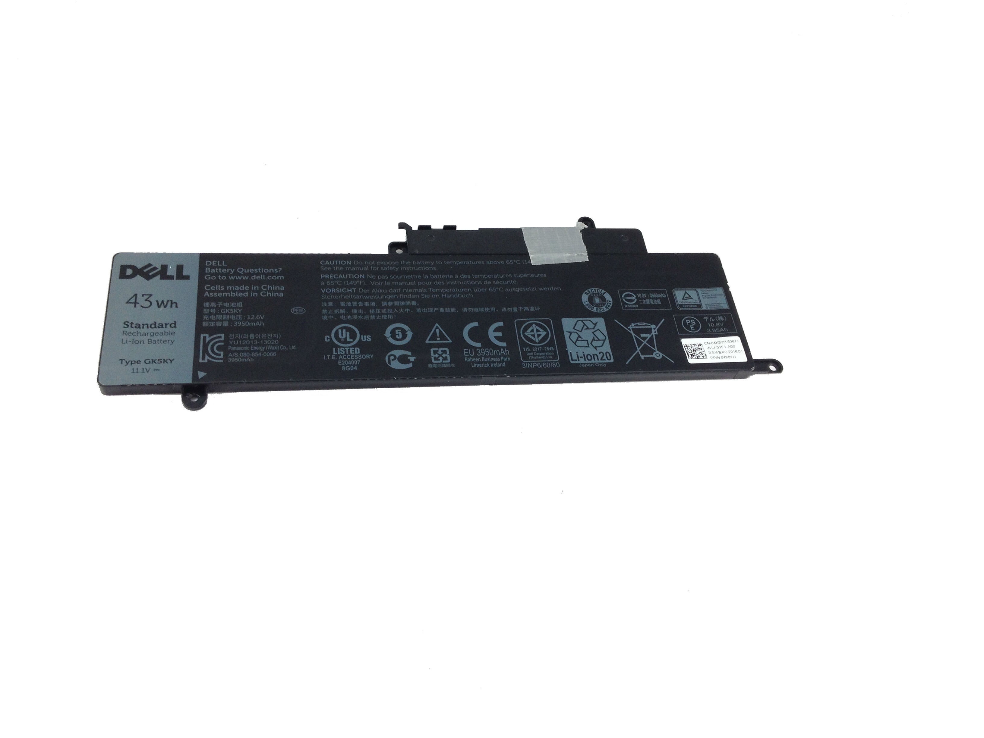 Dell Inspiron 3147 3148 7347 7348 43Whr 3Cell Battery 4K8YH