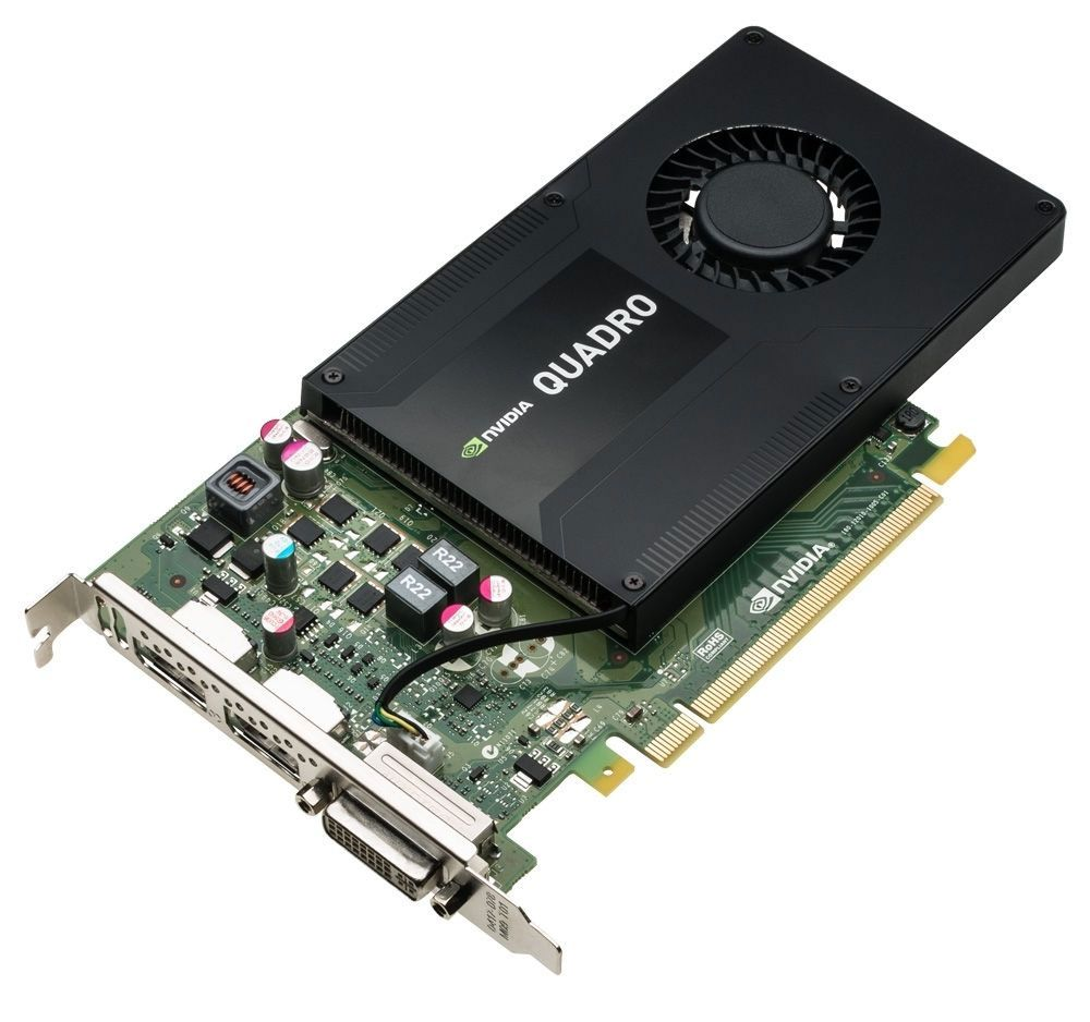 GMNNC Dell Nvidia Quadro K2200 4GB GDDR5 PCIe Video Graphics Card (GMNNC)