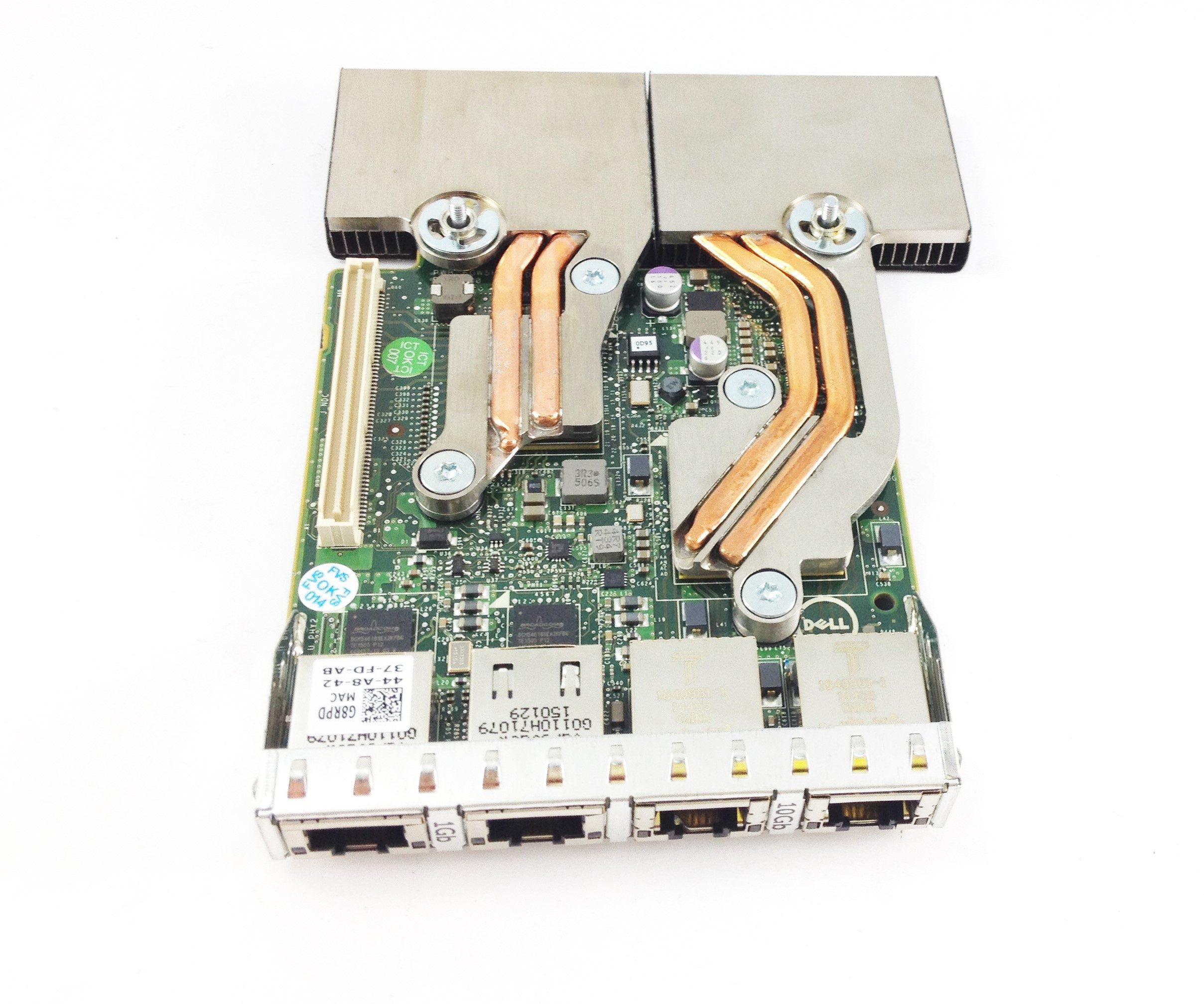 DELL BROADCOM BCM57800-T 2 X10GB / 1GB BASE-T DAUGHTER CARD (G8RPD)