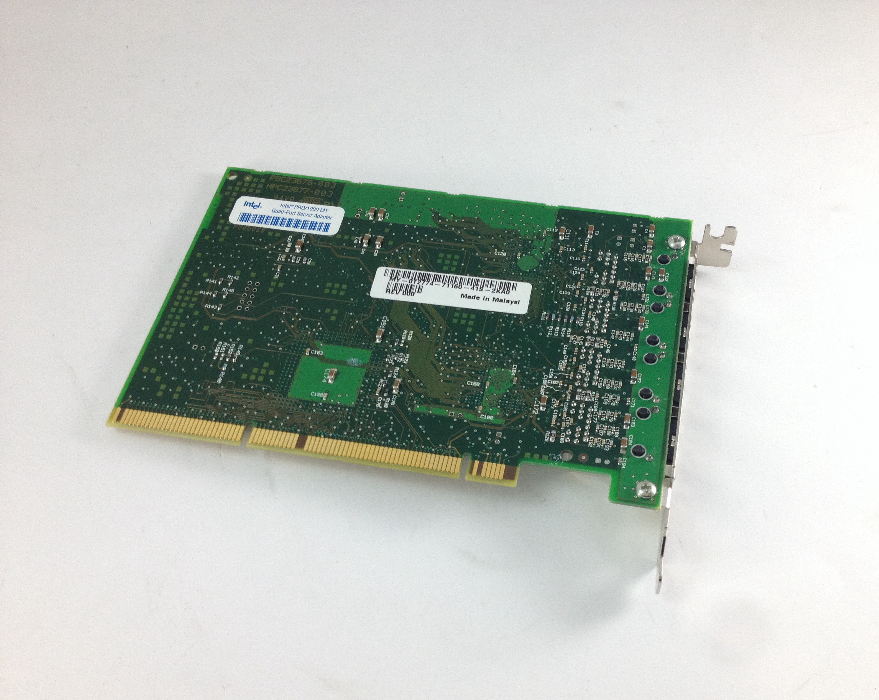 Dell Intel Pro/1000 Mt Nic Quad Port 1Gbps Pci-X Gigabit Ethernet Card (0T2774)