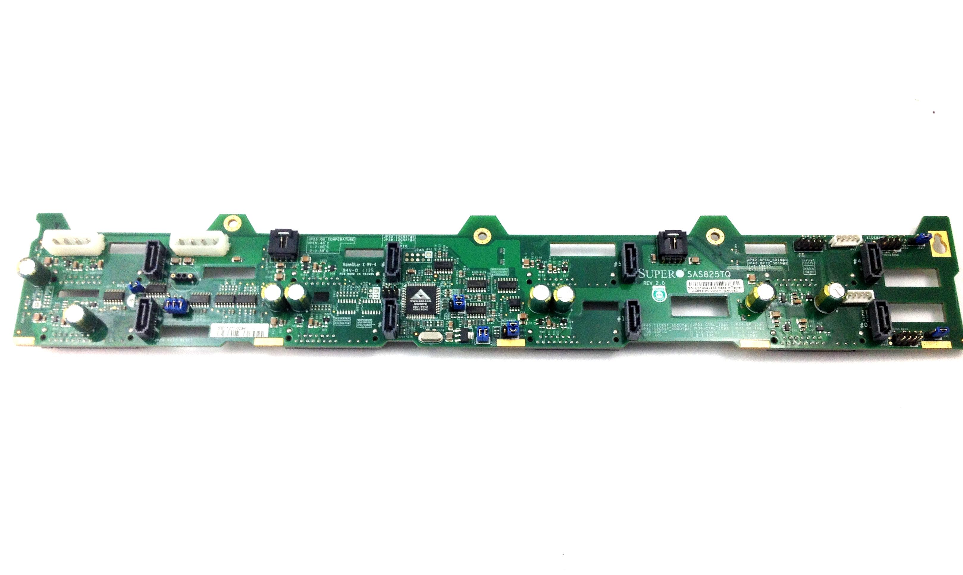 SUPERMICRO 2U 8-BAY SAS / SATA HARD DRIVE BACKPLANE (SAS825TQ)