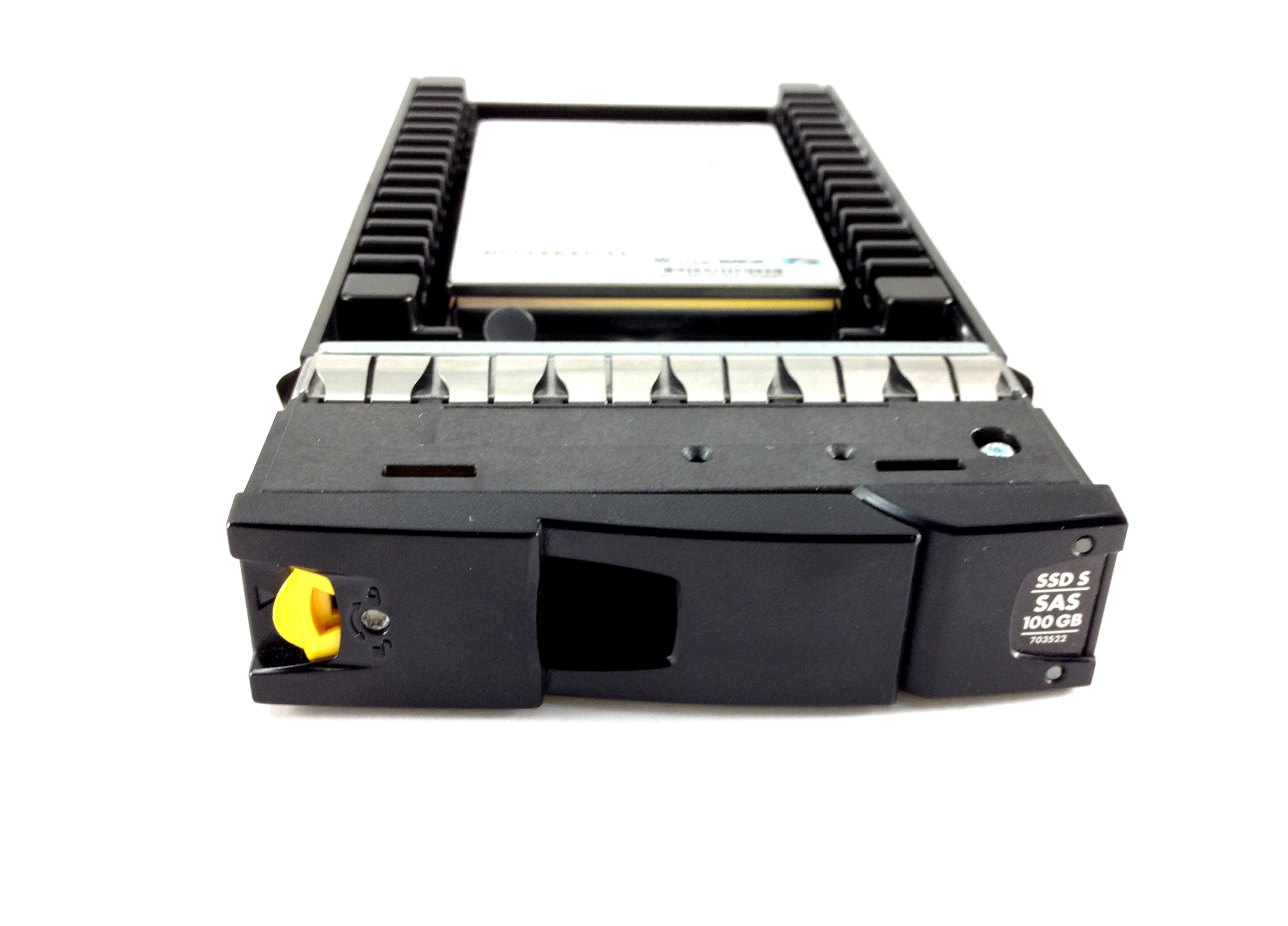 HP 3PAR 100GB 6GBPS SAS 2.5'' SSD W/ 3.5'' VELOCIRAPTOR TRAY (703522-001)