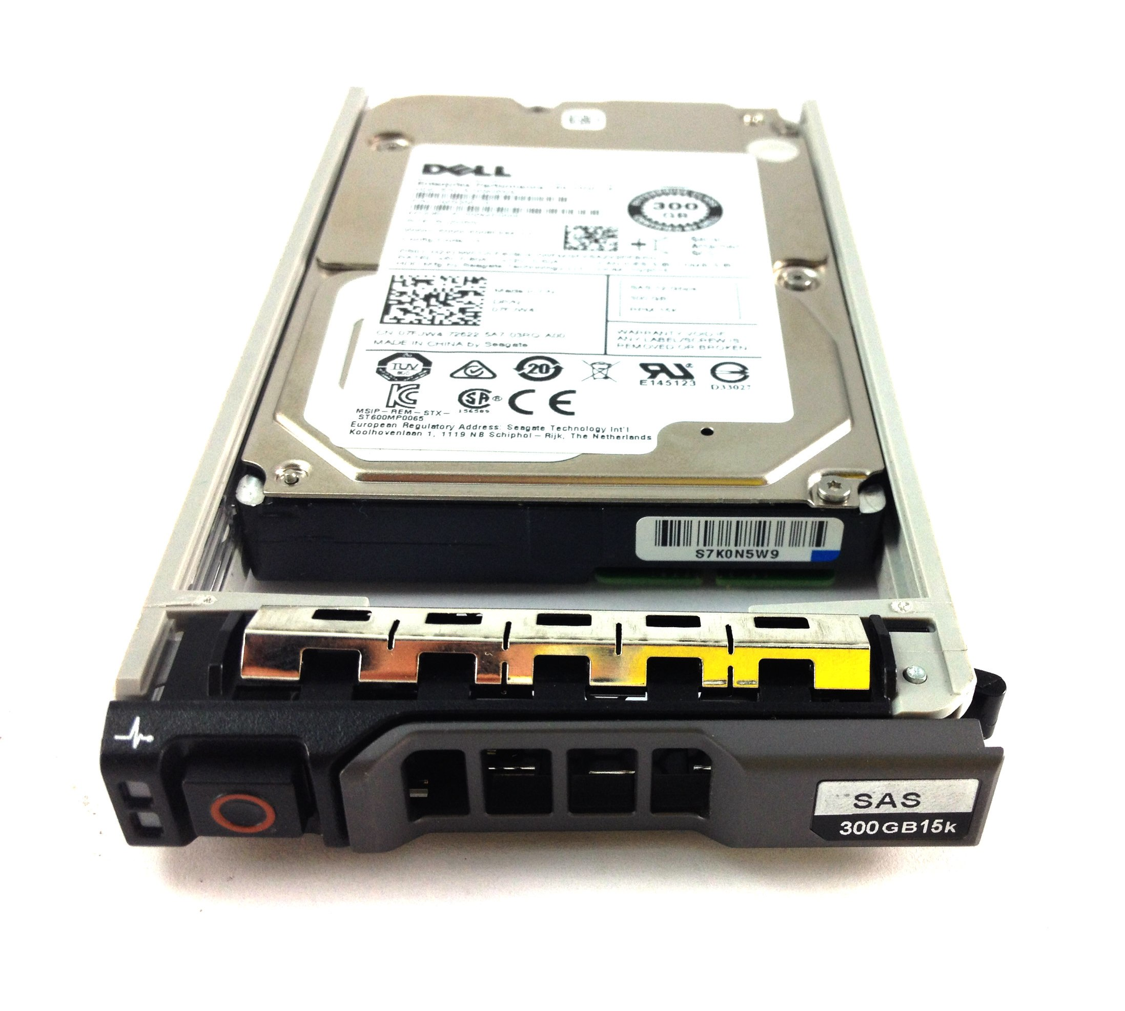 Dell 300GB 15K 12Gb/s SAS 2.5'' Hard Drive (7FJW4)