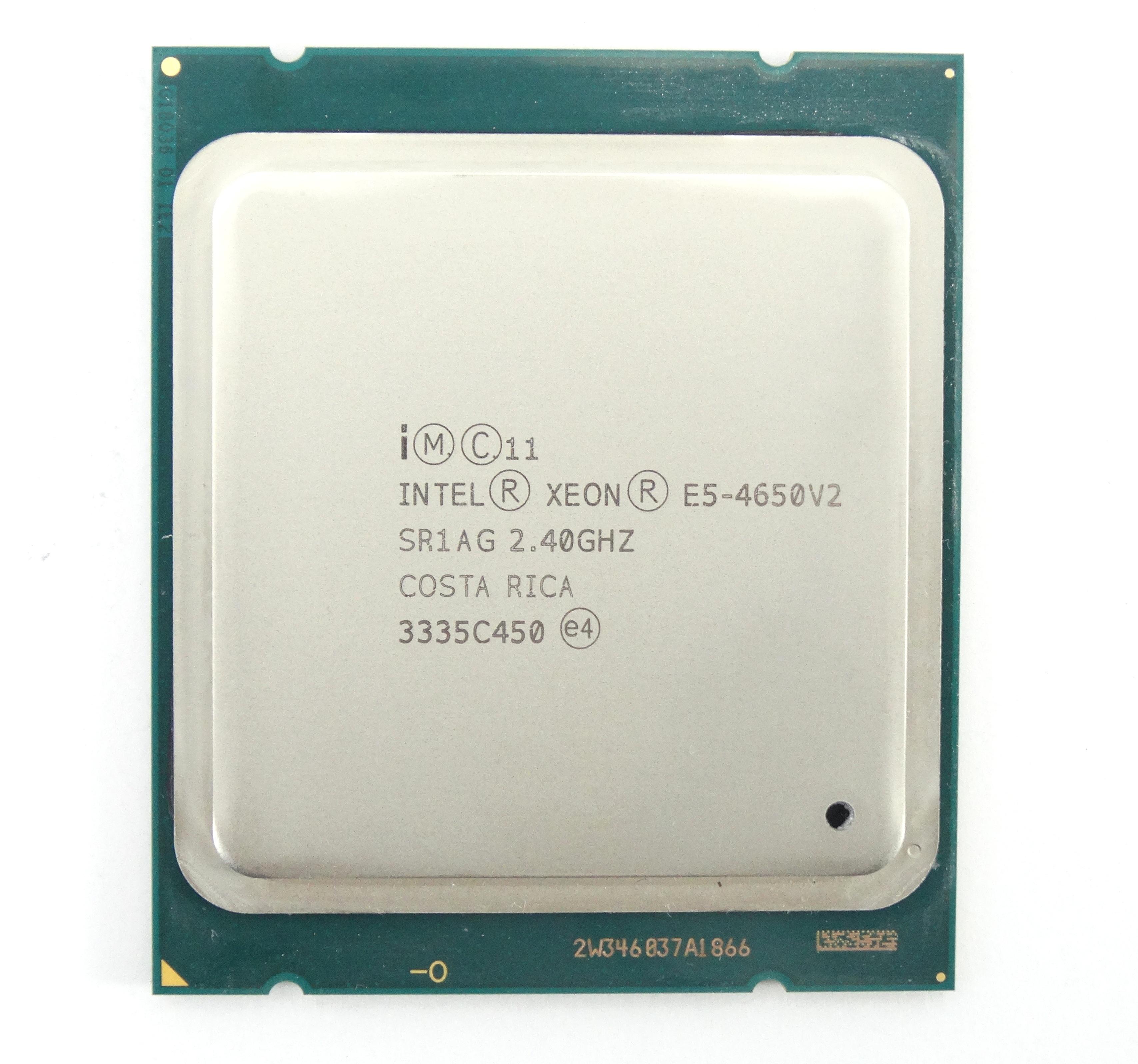 INTEL XEON E5-4650V2 2.4GHZ 10 CORE 25MB CACHE LGA2011 PROCESSOR (SR1AG)