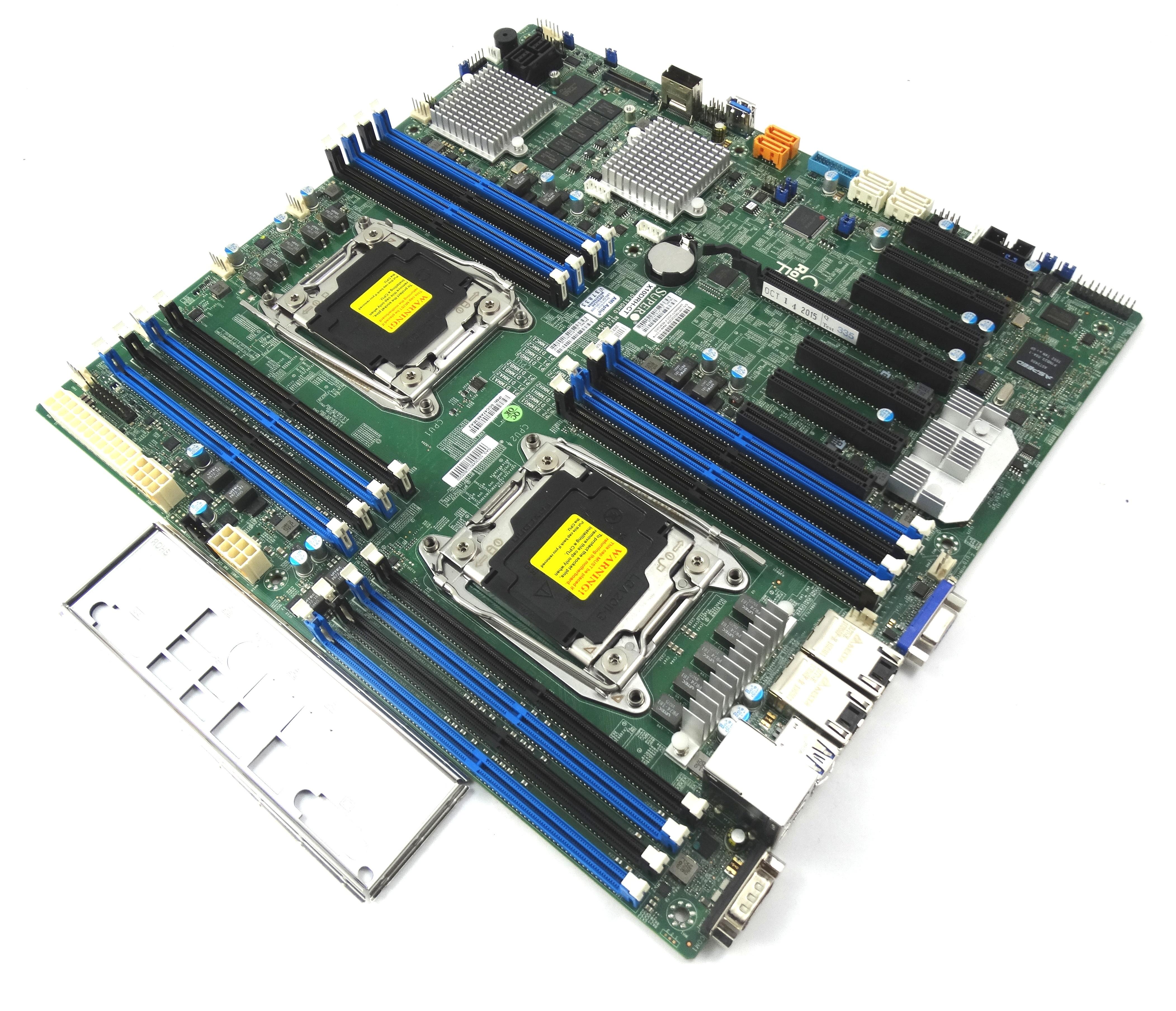 Supermicro Dual LGA2011-V3 Socket DDR4 E-Atx Motherboard (X10DRH-CT)