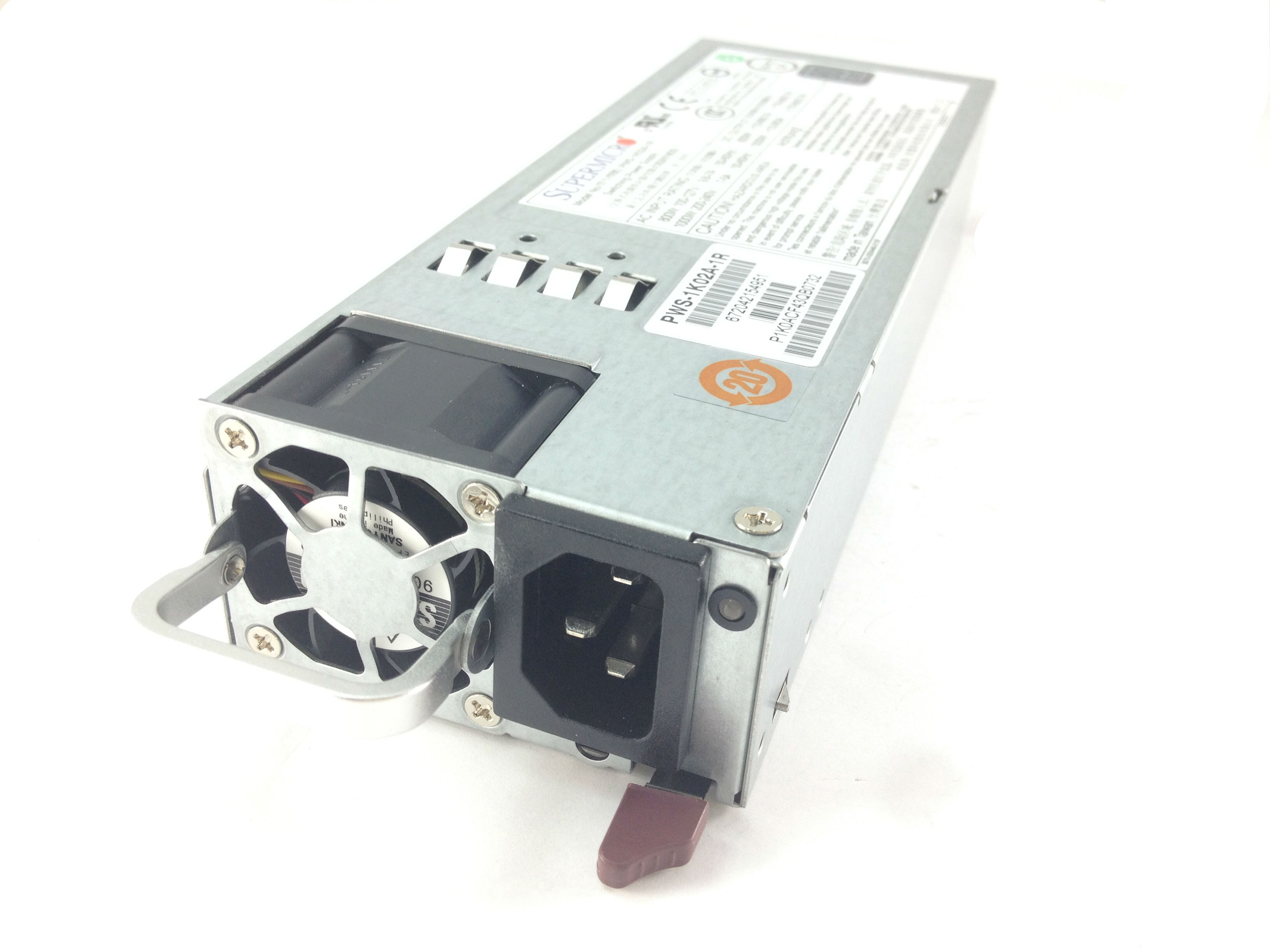 SUPERMICRO 1U 1000W REDUNDANT POWER SUPPLY (PWS-1K02A-1R)