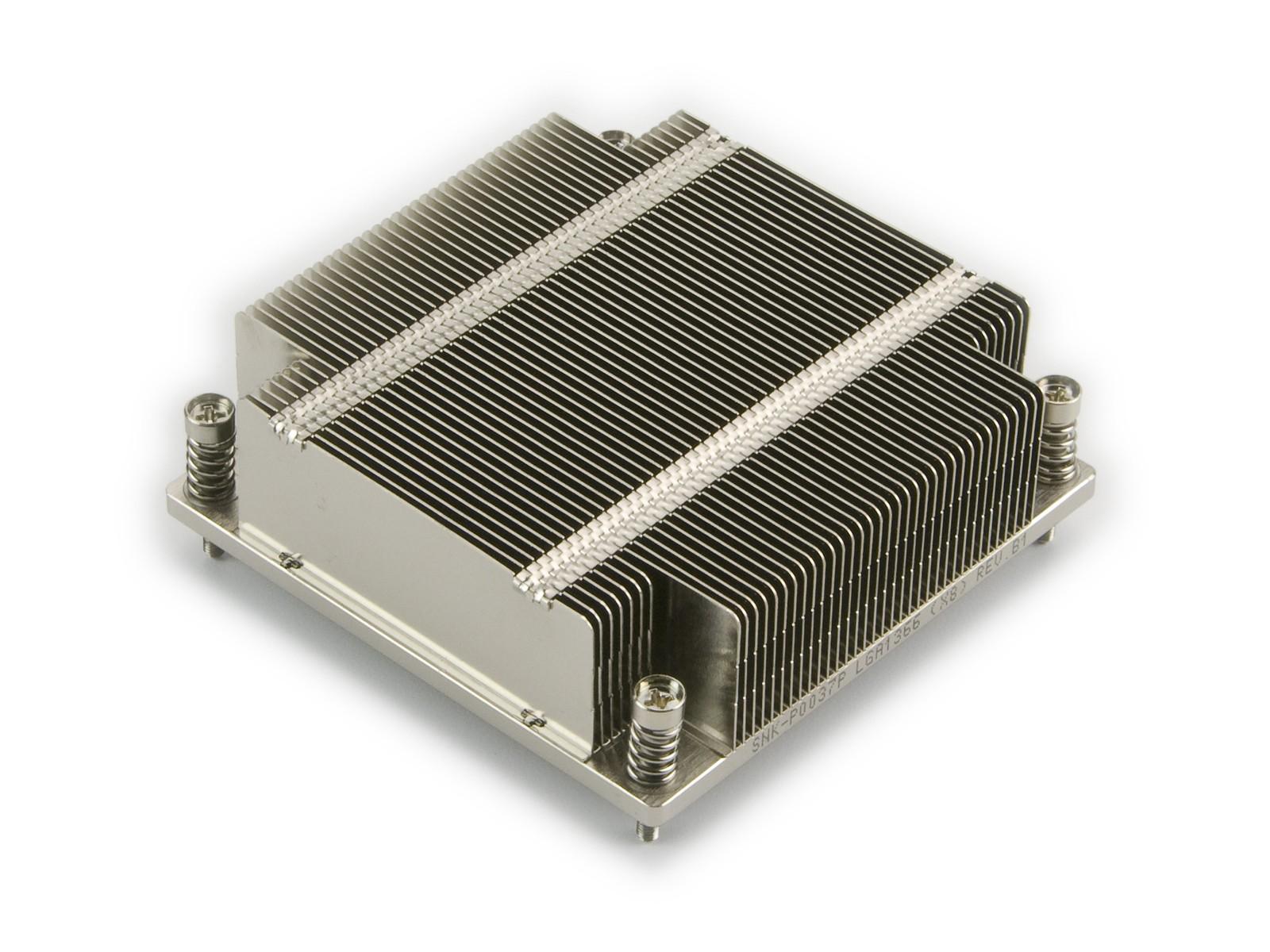 Supermicro 1U LGA1366 (X8) Intel Xeon Socket Heatsink (SNK-P0037P)
