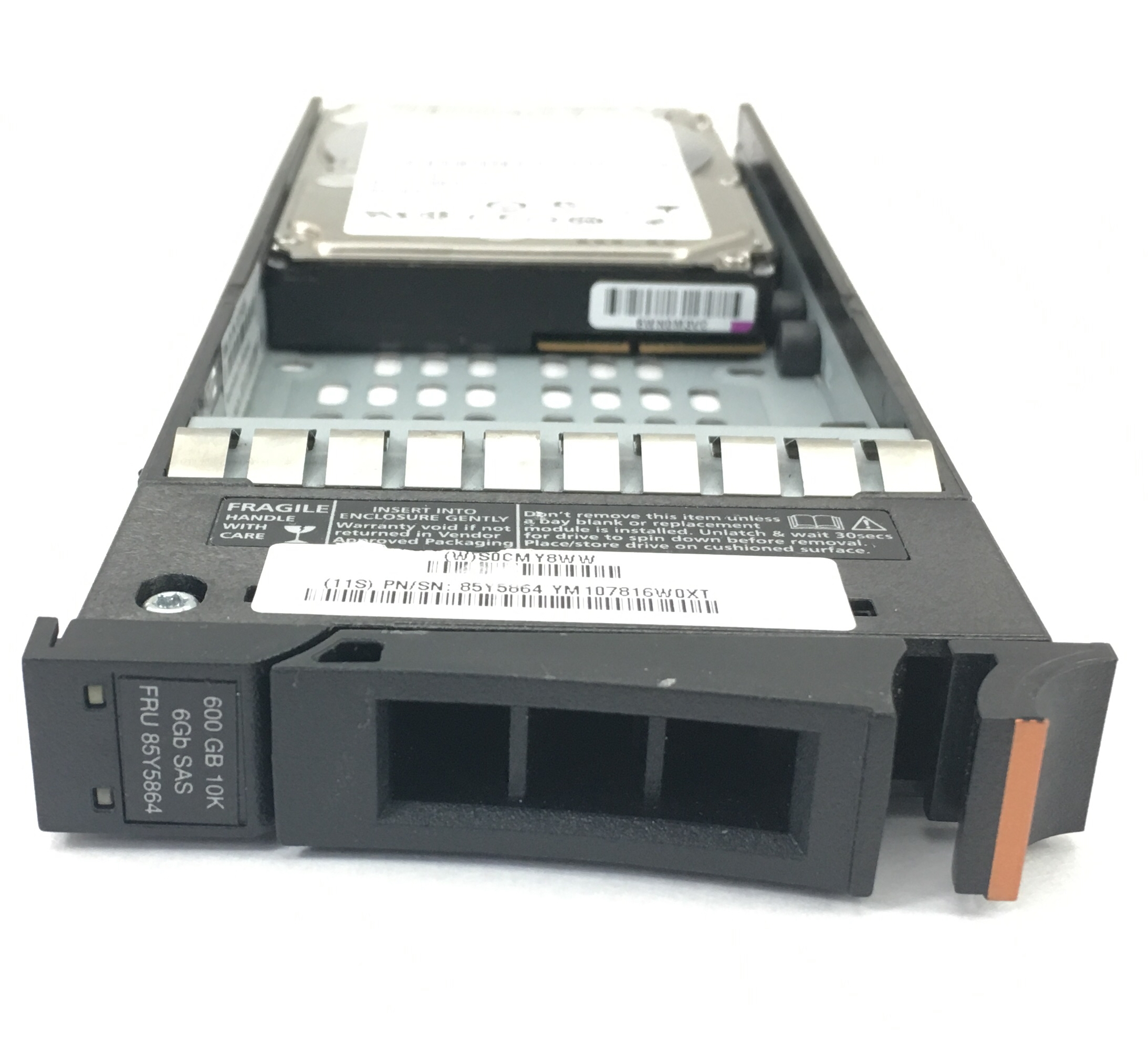 IBM 600GB 10K 6GBPS SAS 2.5'' HARD DRIVE (85Y5864)