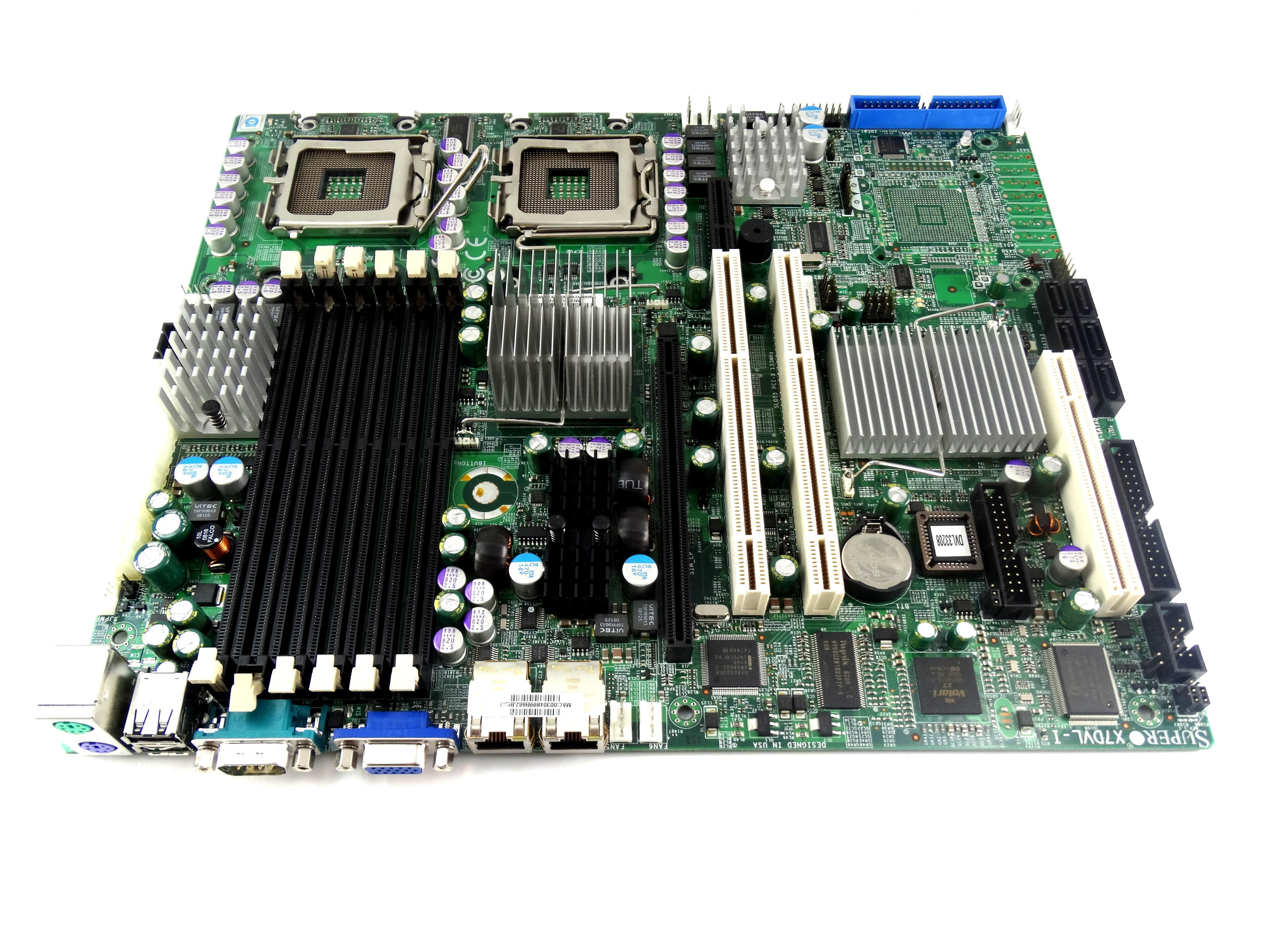 Supermicro Intel 5000V LGA771 ATX Server Motherboard (X7DVL-I)
