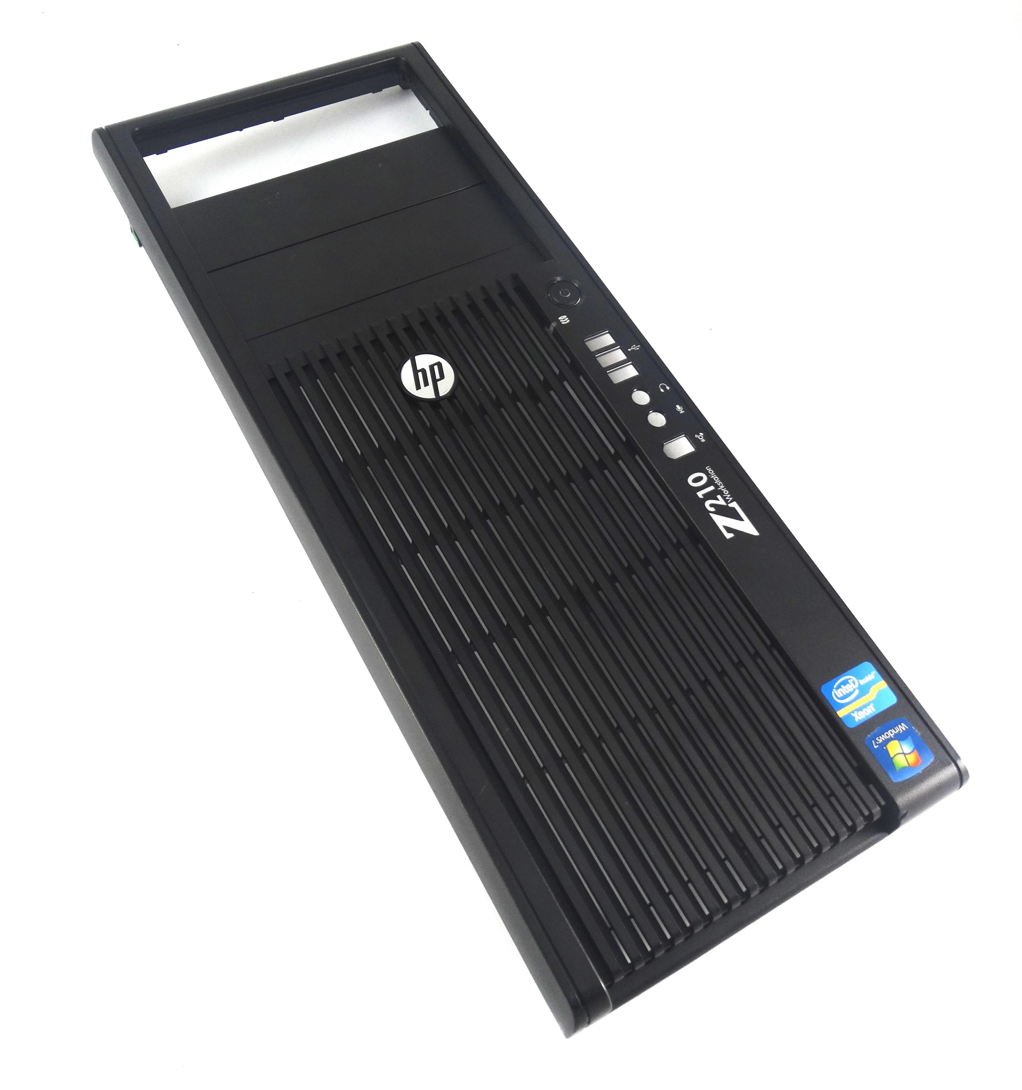 HP Z210 WorkStation Front Bezel Assembly / Face Plate (644026-001)