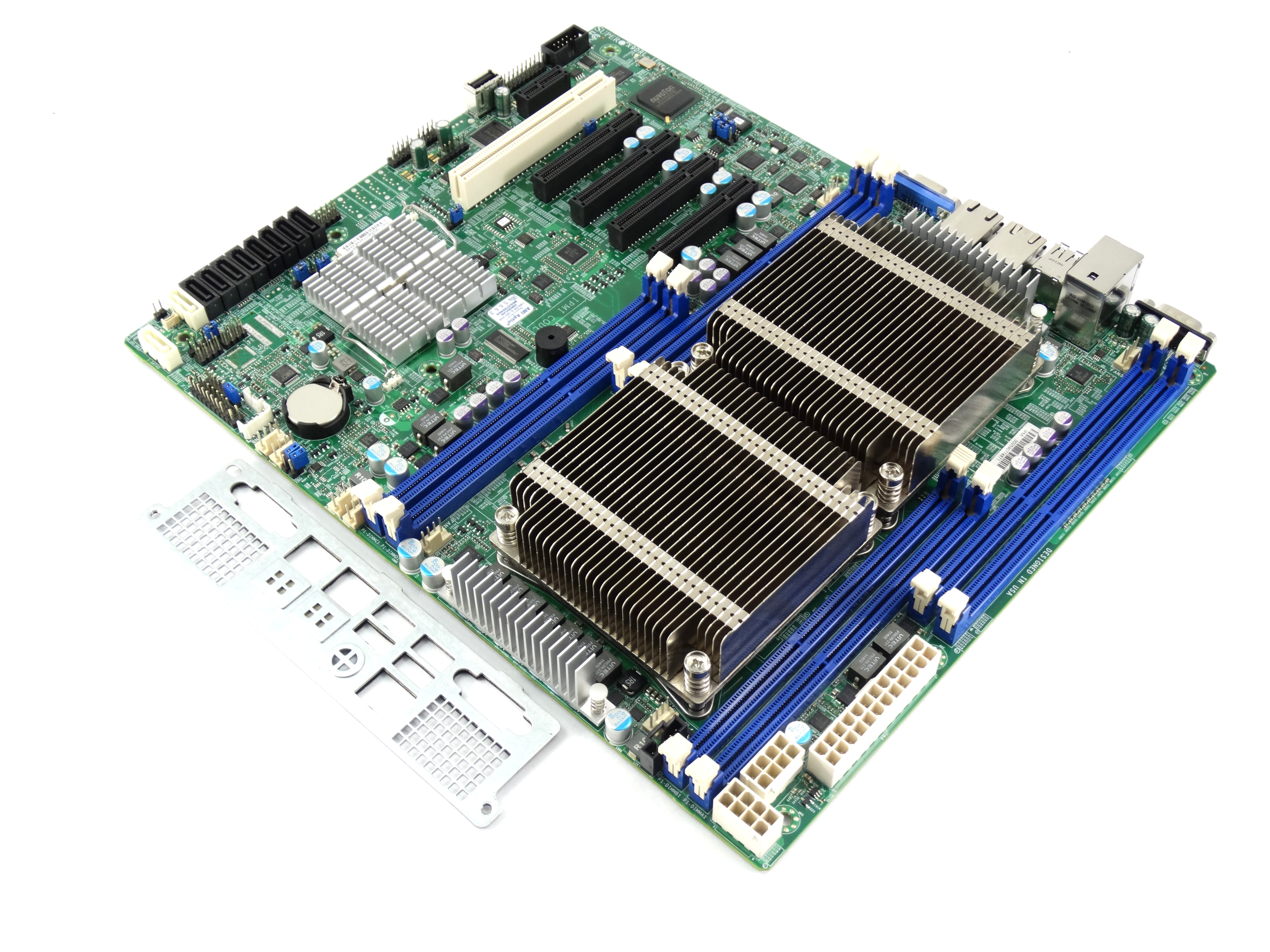 Supermicro Dual Intel Xeon E5-2600 v1/ v2 LGA2011 ATX Server Motherboard (X9DRL-IF)