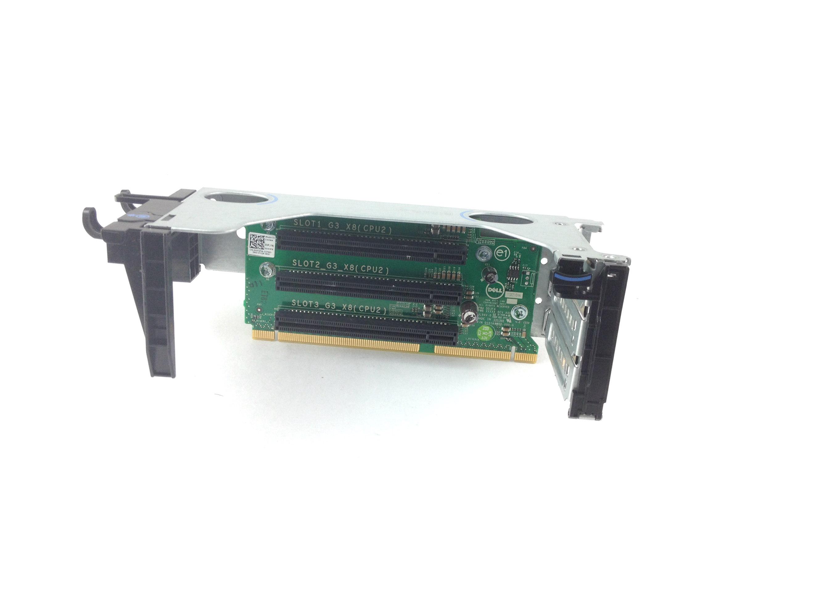Dell PowerEdge R720 PCI-E Riser Board & Cage Assembly (DD3F6)