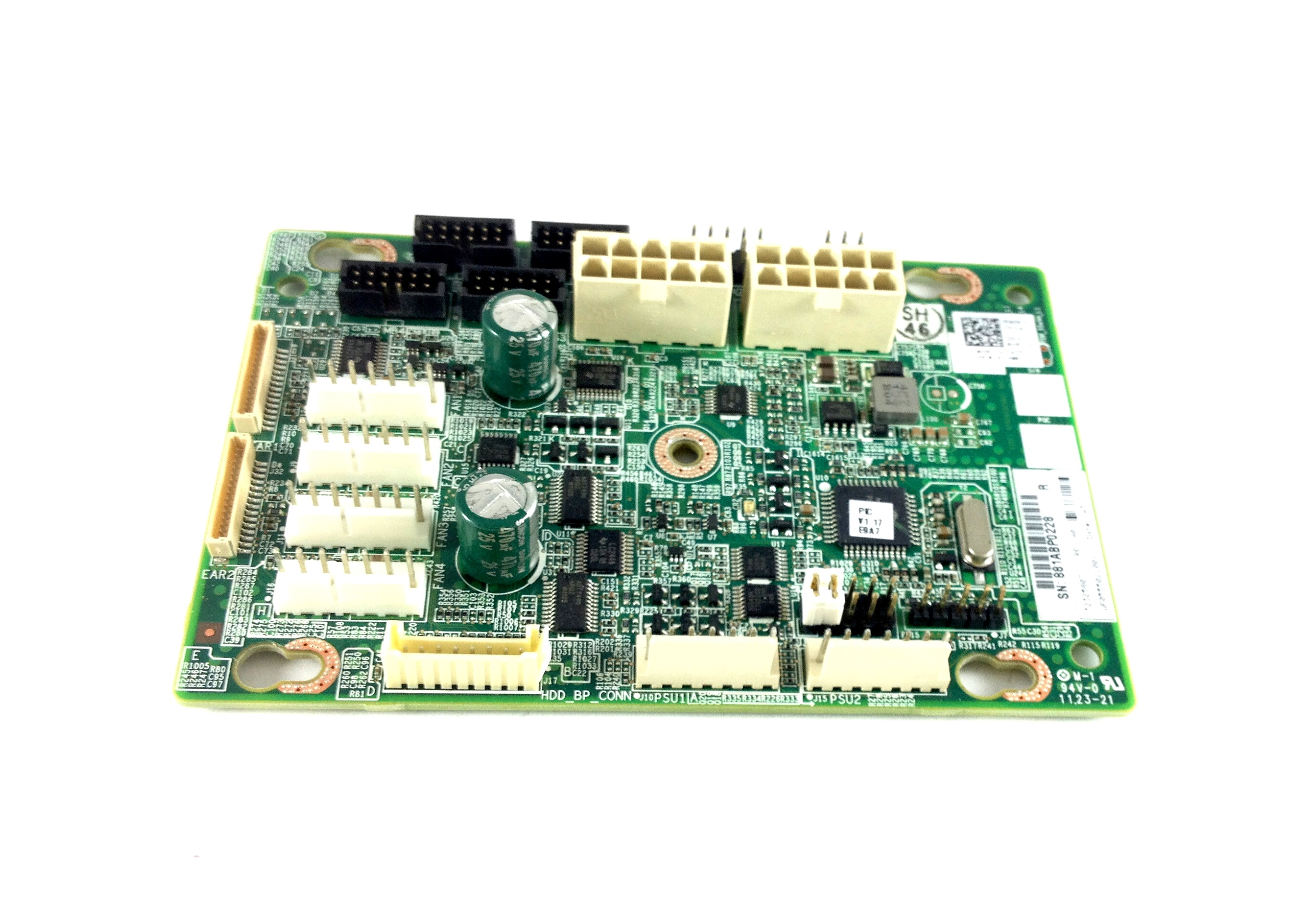 Dell PowerEdge C6100 Server Fan Controller Board (H8YCH)