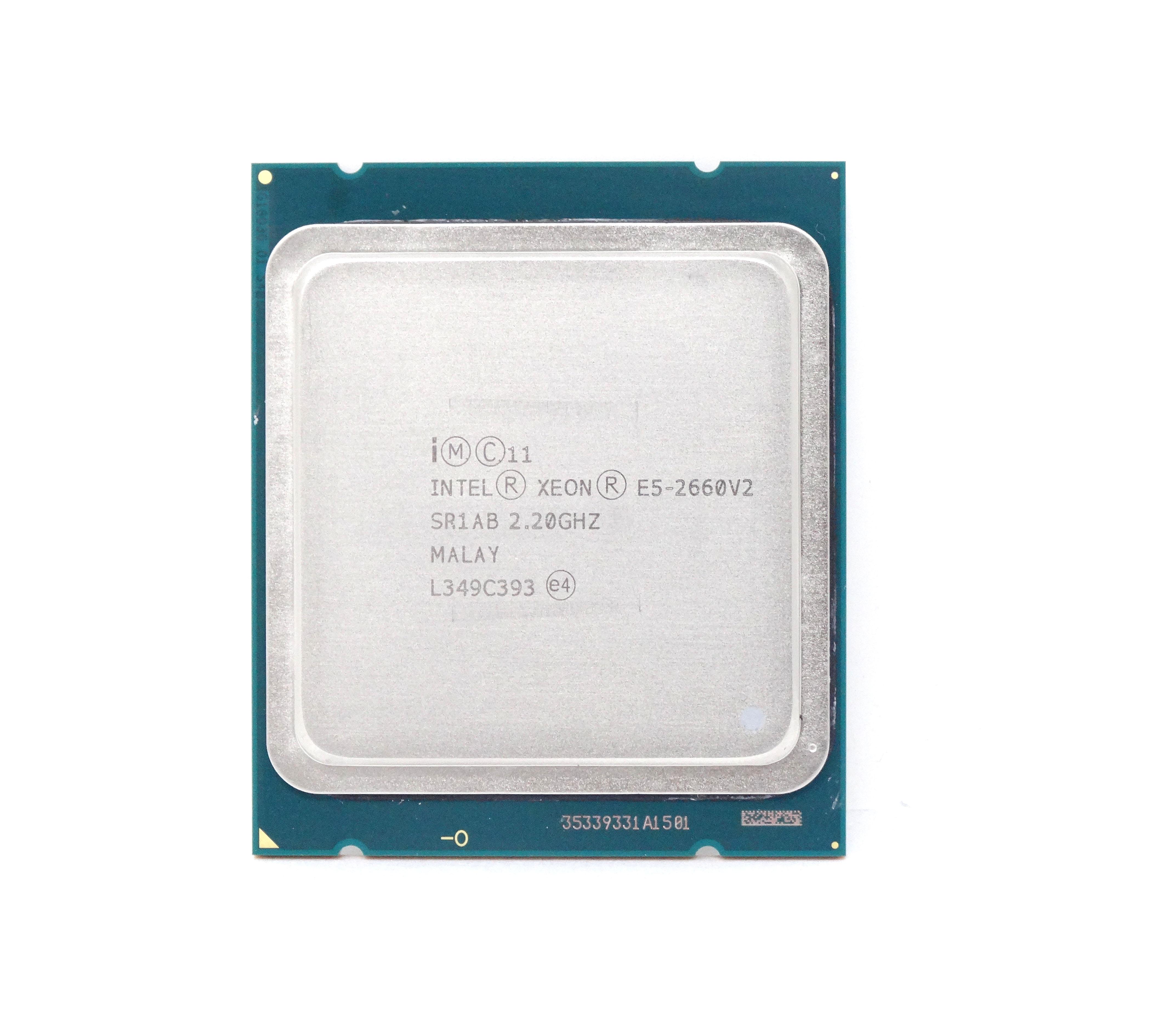 INTEL XEON E5-2660V2  2.2GHZ 10 CORE 25MB 8GT/S  PROCESSOR (SR1AB)