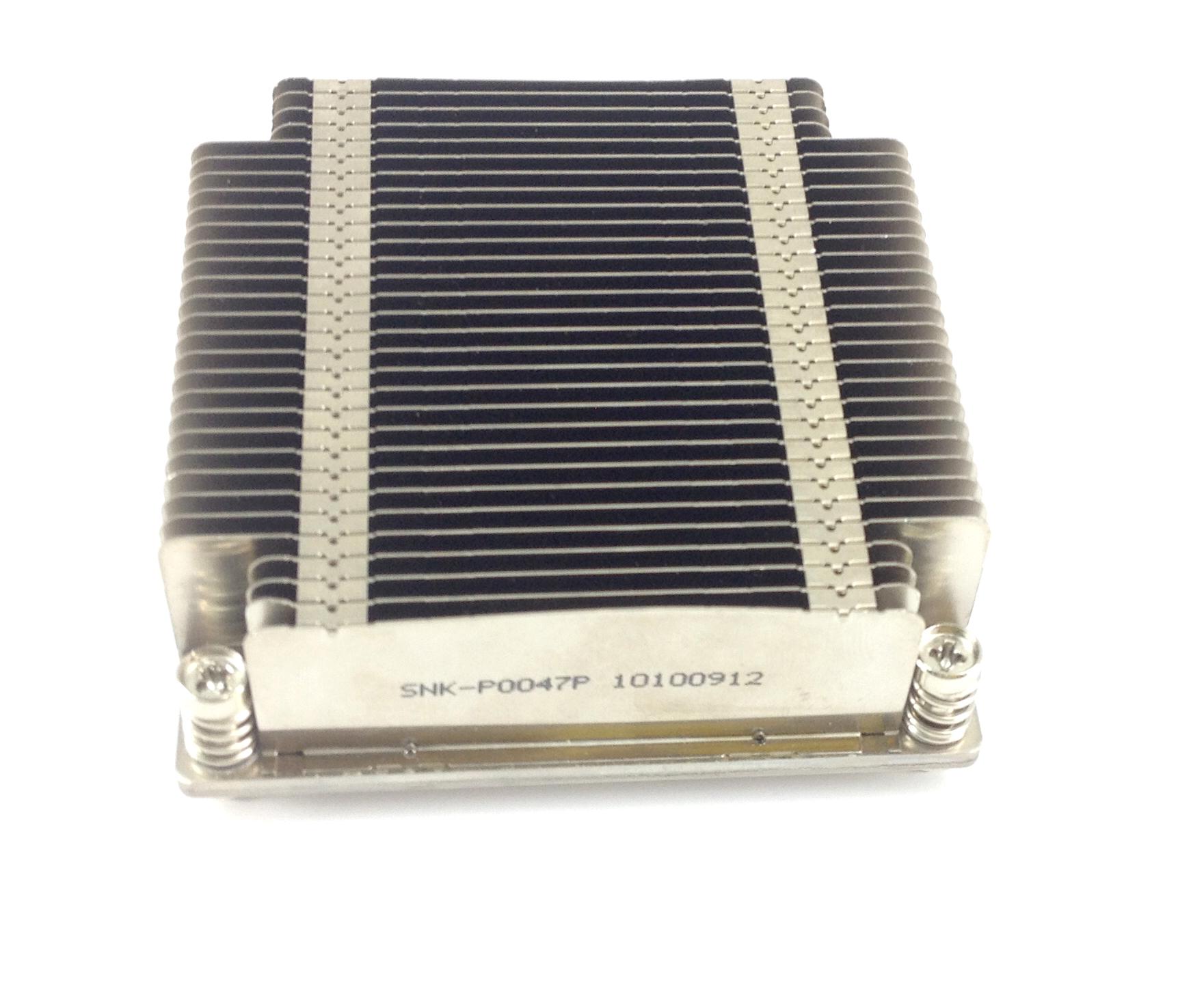 Supermicro 1U Passive CPU Heatsink LGA2011 for X9 UP/DP Systems (SNK-P0047P)