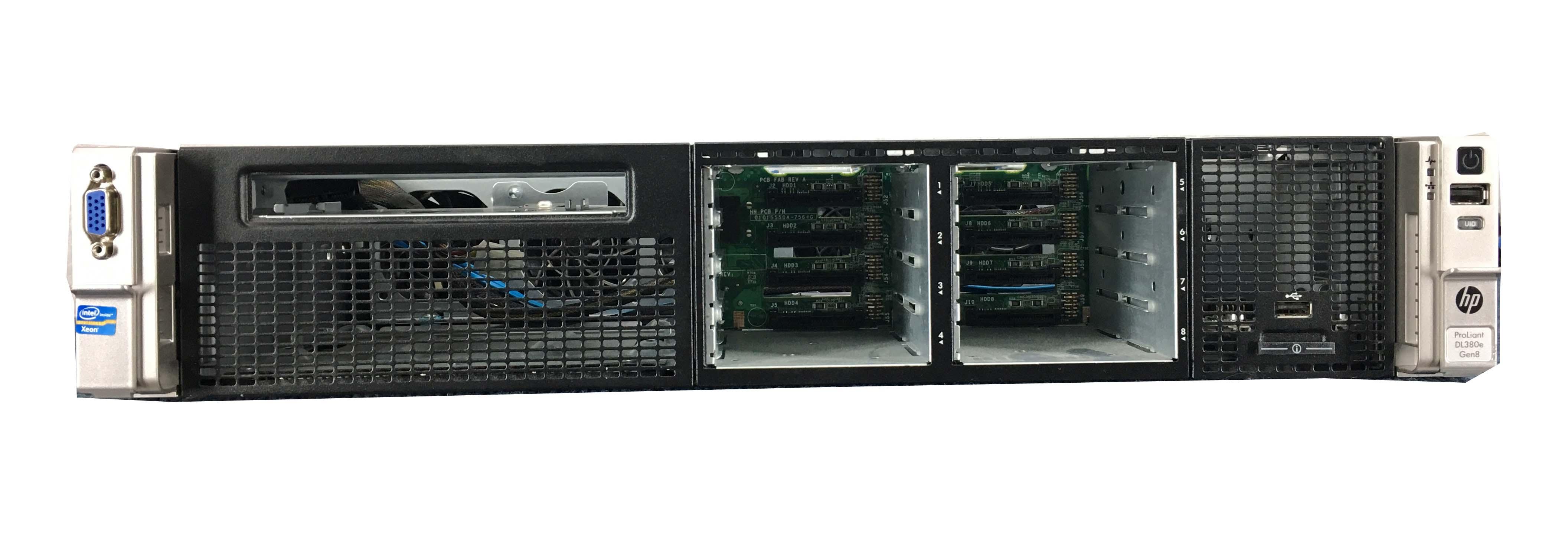 HP Proliant DL380E G8 2U Cto Barebone Server (DL380EG8)