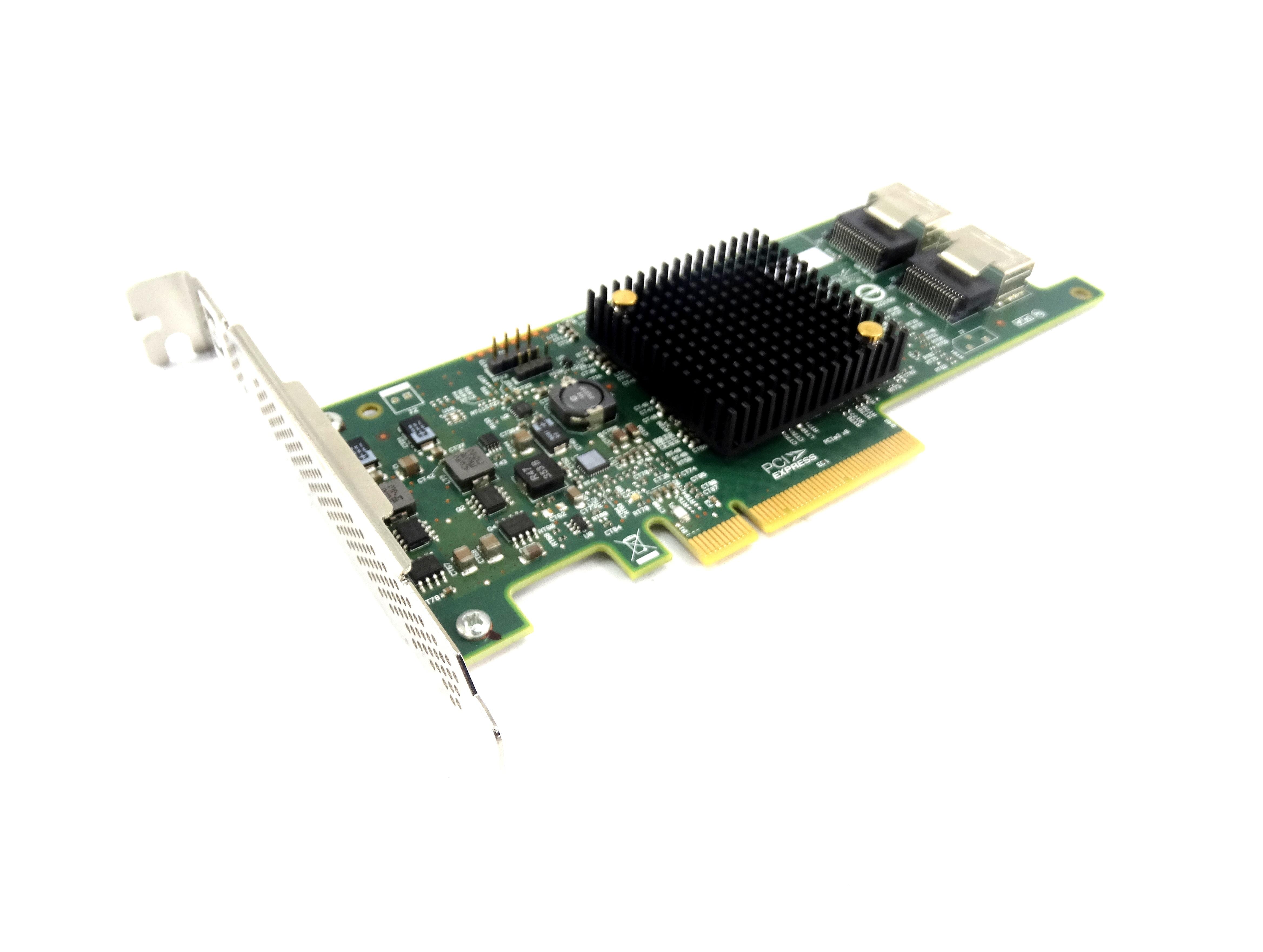 HP H220 SAS 9205-8I DUAL PORT 6GBPS PCI-E 3.0 X8 HOST BUS ADAPTER (660088-001)