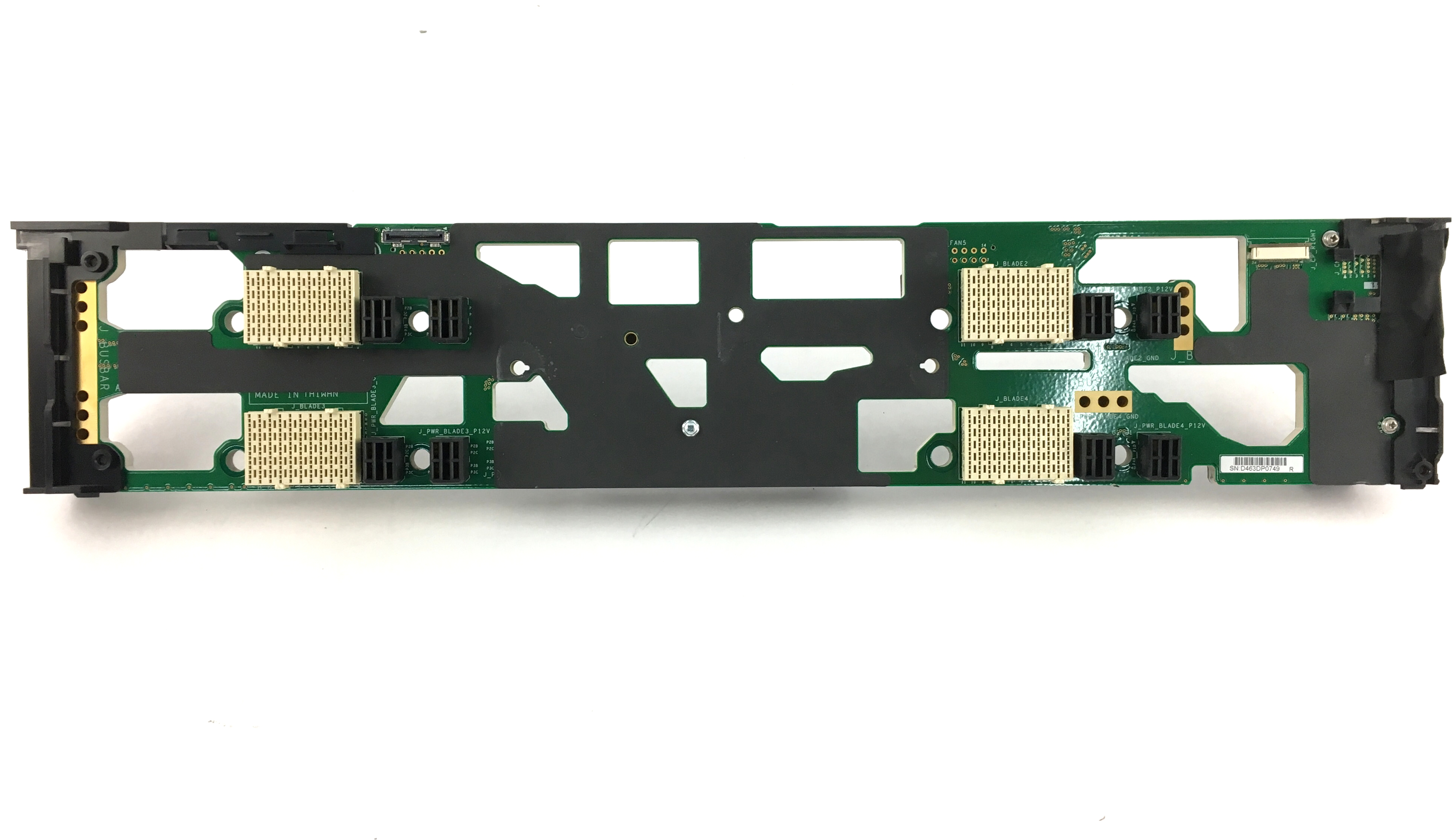 Dell PowerEdge FX2S Mid-Plan Board (XH8H1)
