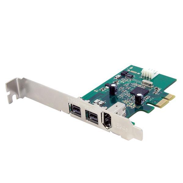 Startech  2B 1A 1394 Firewire Pci Express Card (PEX1394B3)
