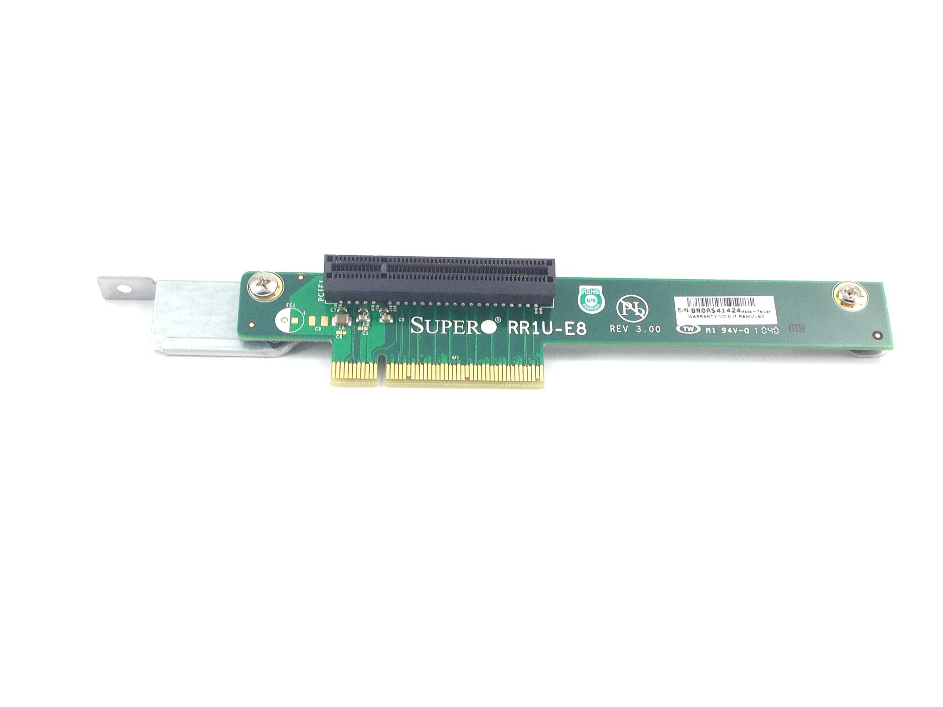 Supermicro 1U PCI-E X8 Server Riser Card Rev 3.00 (RR1U-E8)