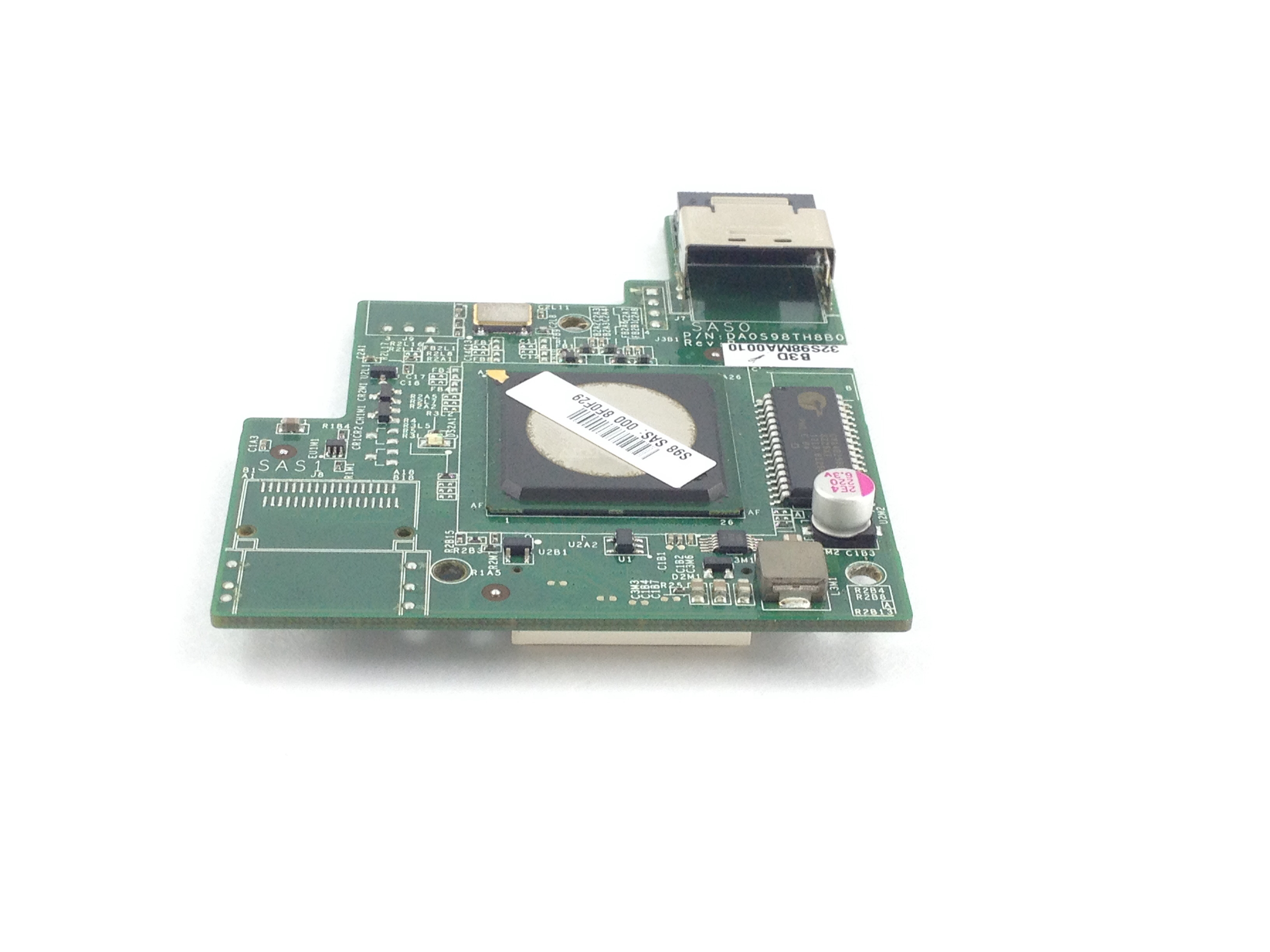 CISCO LSI 1064E 4-PORT MEZZANINE CONTROLLER CARD FROM UCS C200 M2 SERVER (DA0S98TH8B0)