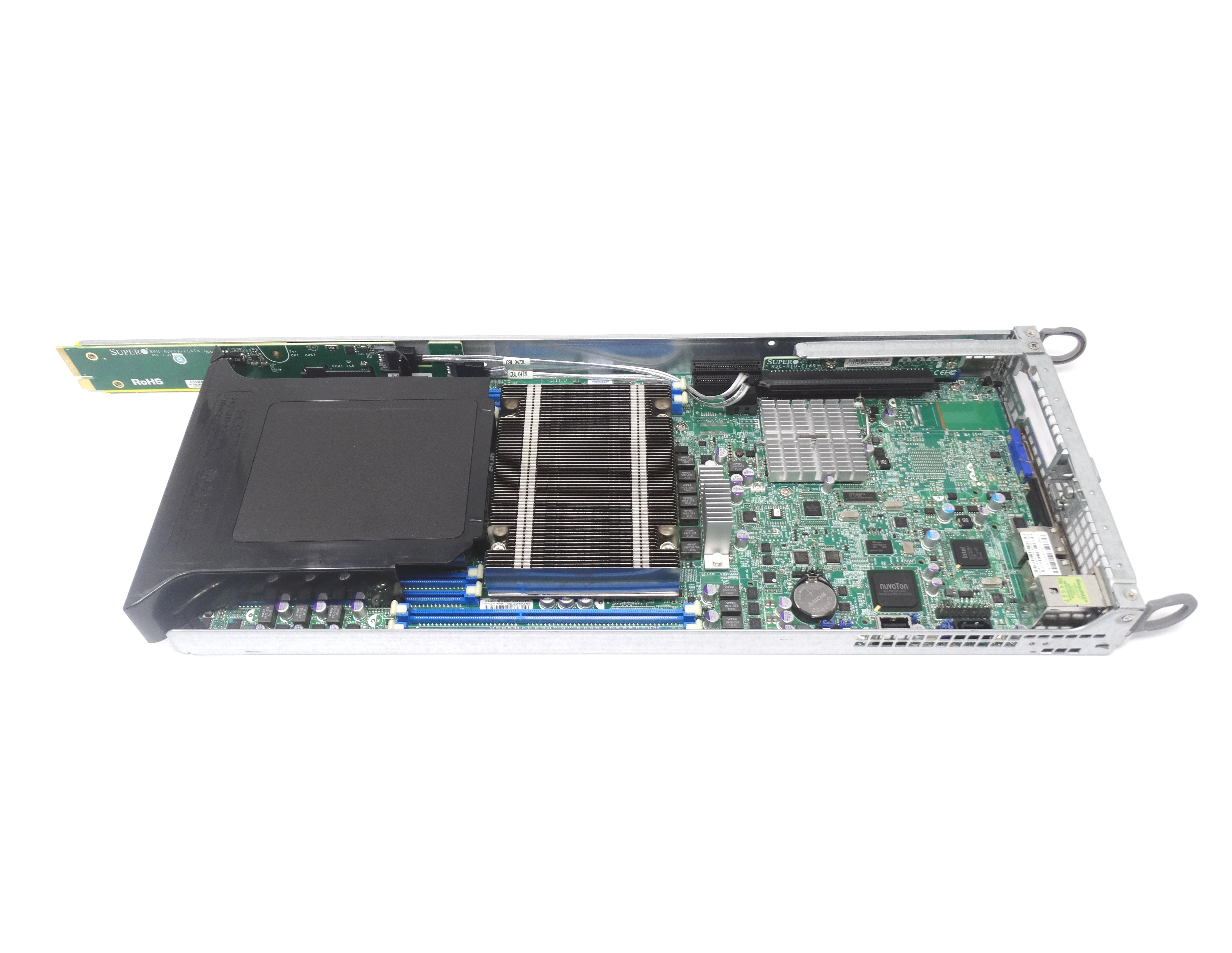 Supermicro LGA 2011 Socket System Board w/ Dual Heatsink (X9DRT-HF)