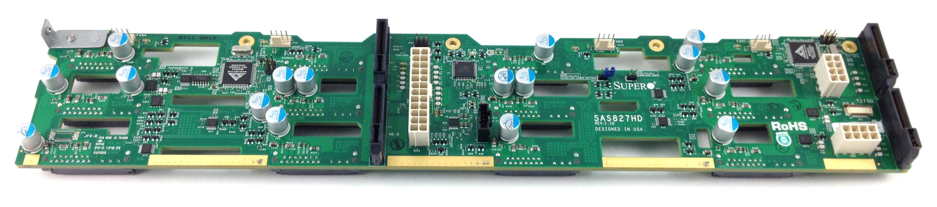 Supermicro 12,Bay 3.5' SAS SATA Hard Drive Backplane (SAS827HD)