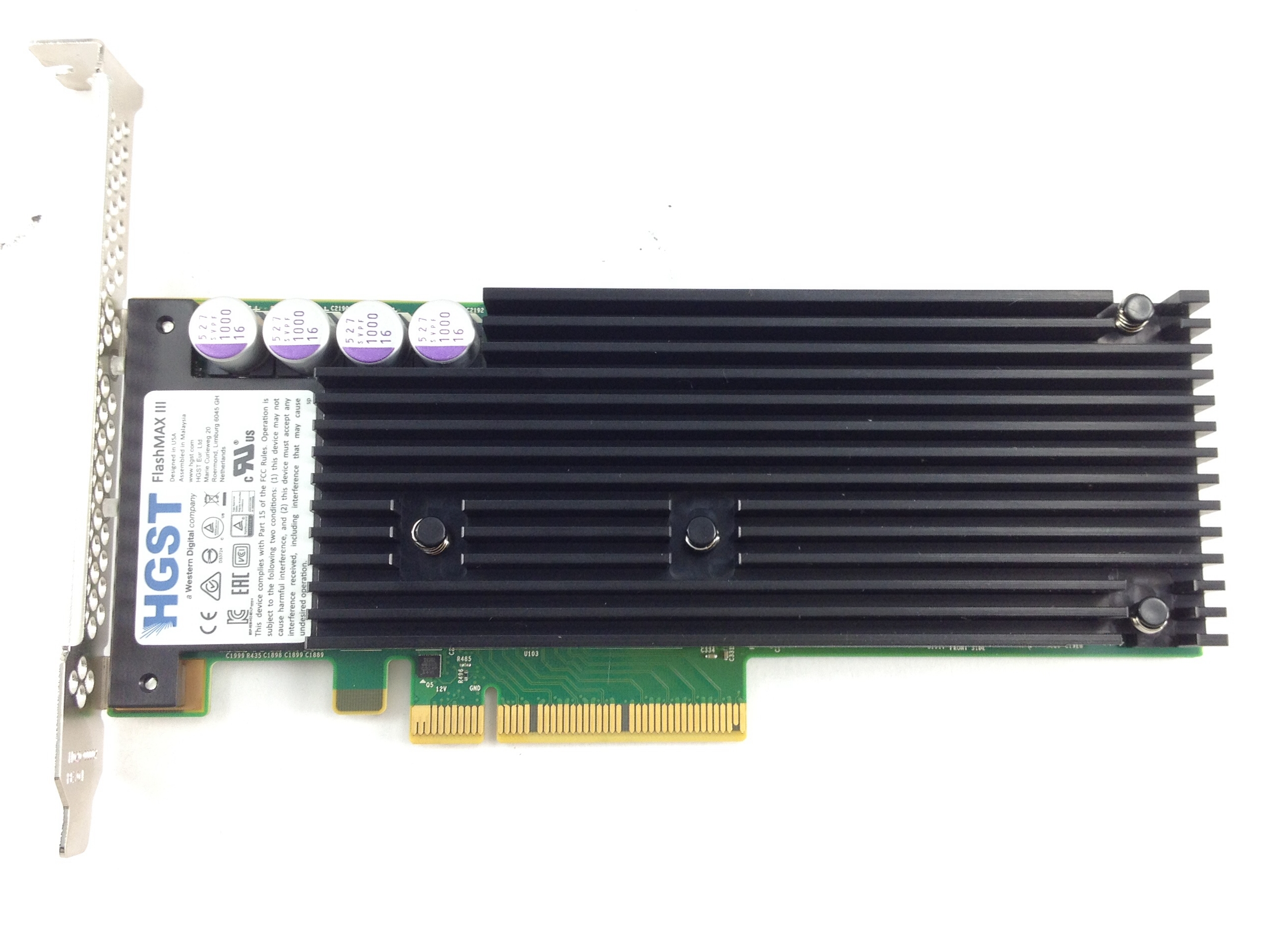 Hgst Virident Flashmax Iii PCI-E 3.0 2.2TB Flash Solid State  Drive  SSD (LNK-M3-LP-2200-1A)