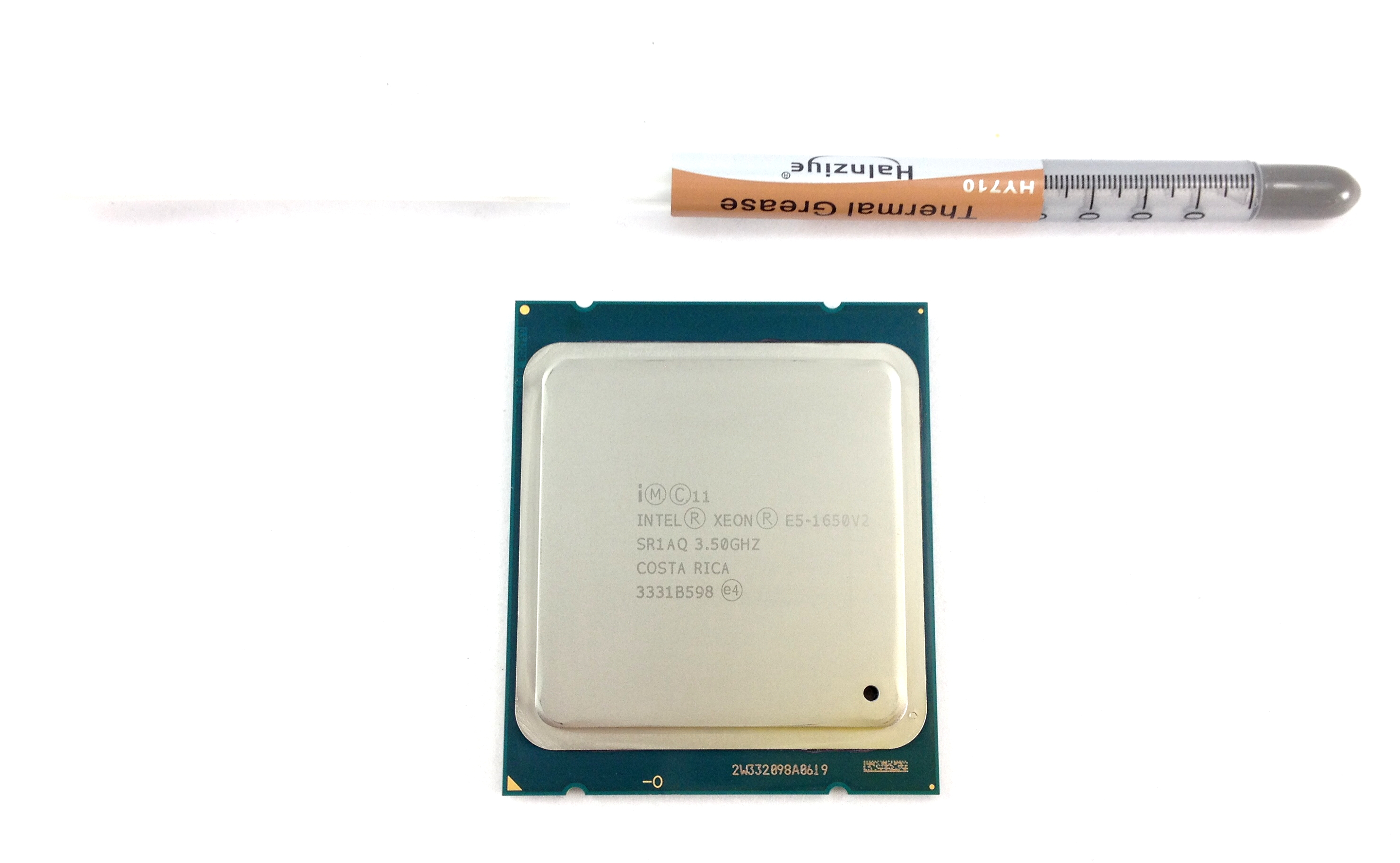 Intel Xeon E5-1650 v2 3.5GHz 6 Core 12MB LGA2011 CPU Processor (SR1AQ)