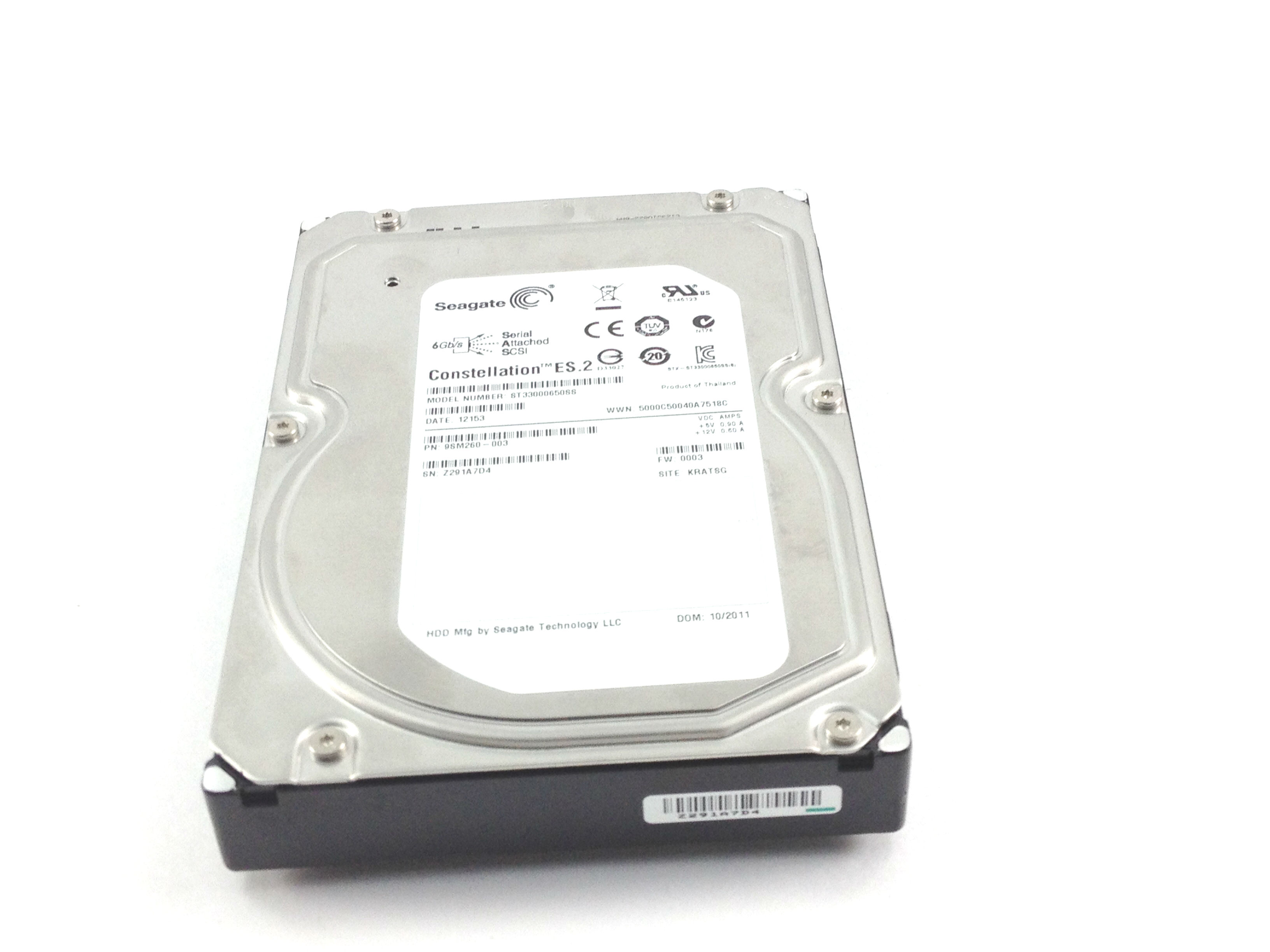 SEAGATE 3TB 7.2K 6GBPS SAS 3.5'' HARD DRIVE (ST33000650SS)