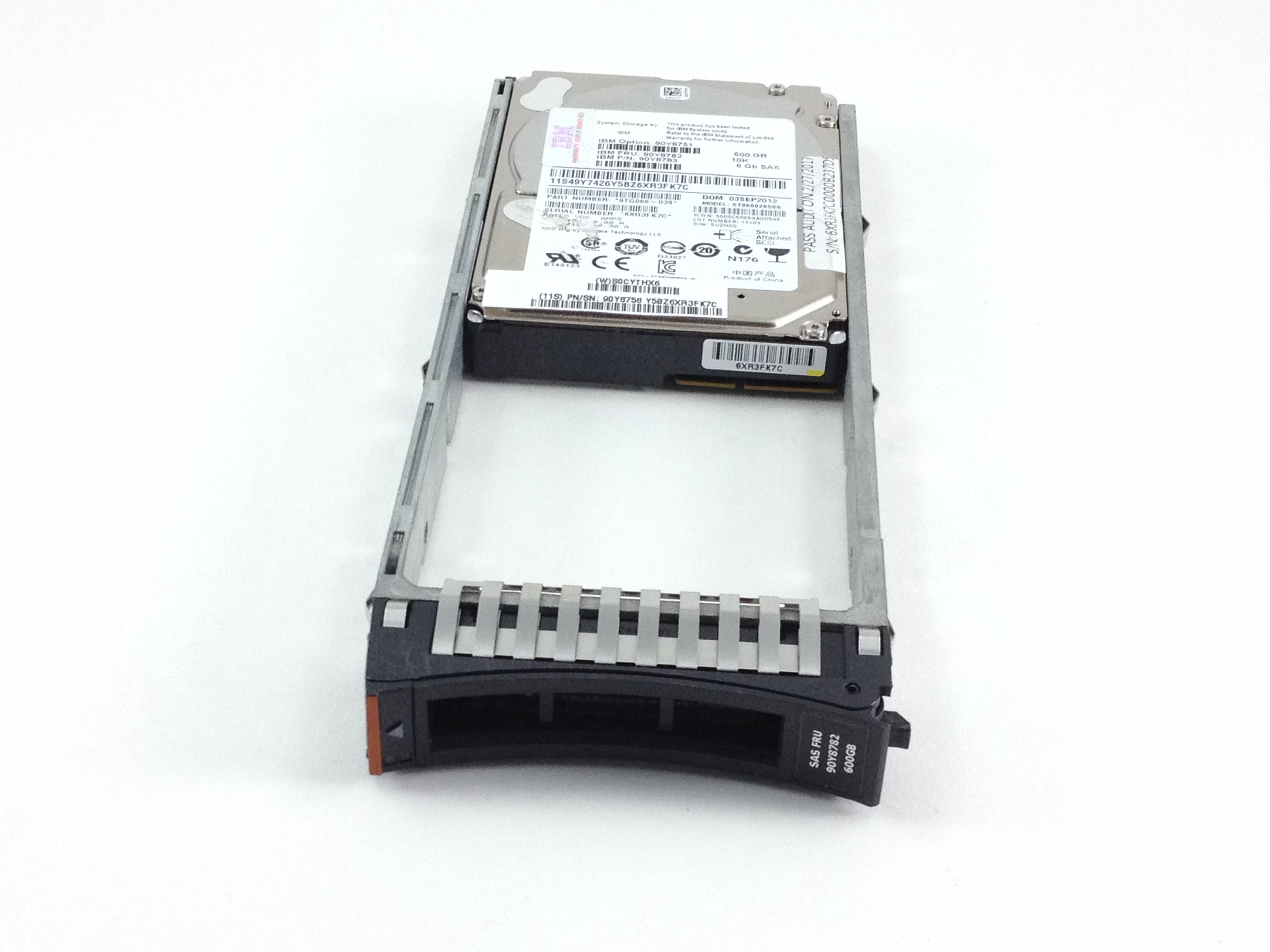 IBM Savio 600GB 10K SAS 2.5'' Enterprise Hard Drive (90Y8782)