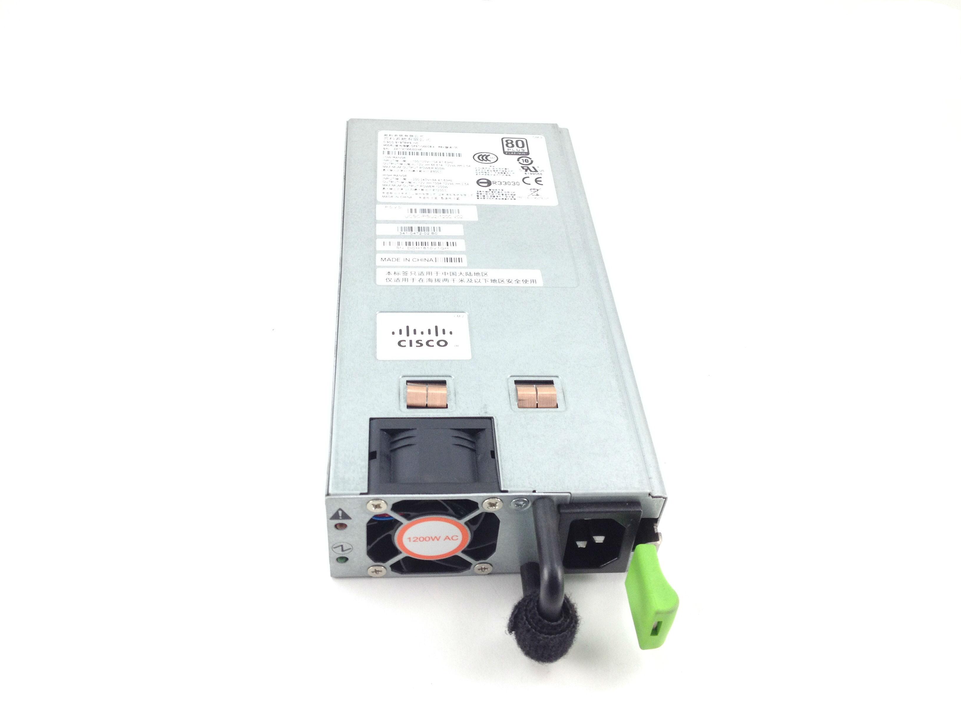 Cisco 1200W 80 Plus Platinum Hot-Swap Redundant Power Supply (UCSC-PSU2-1200)