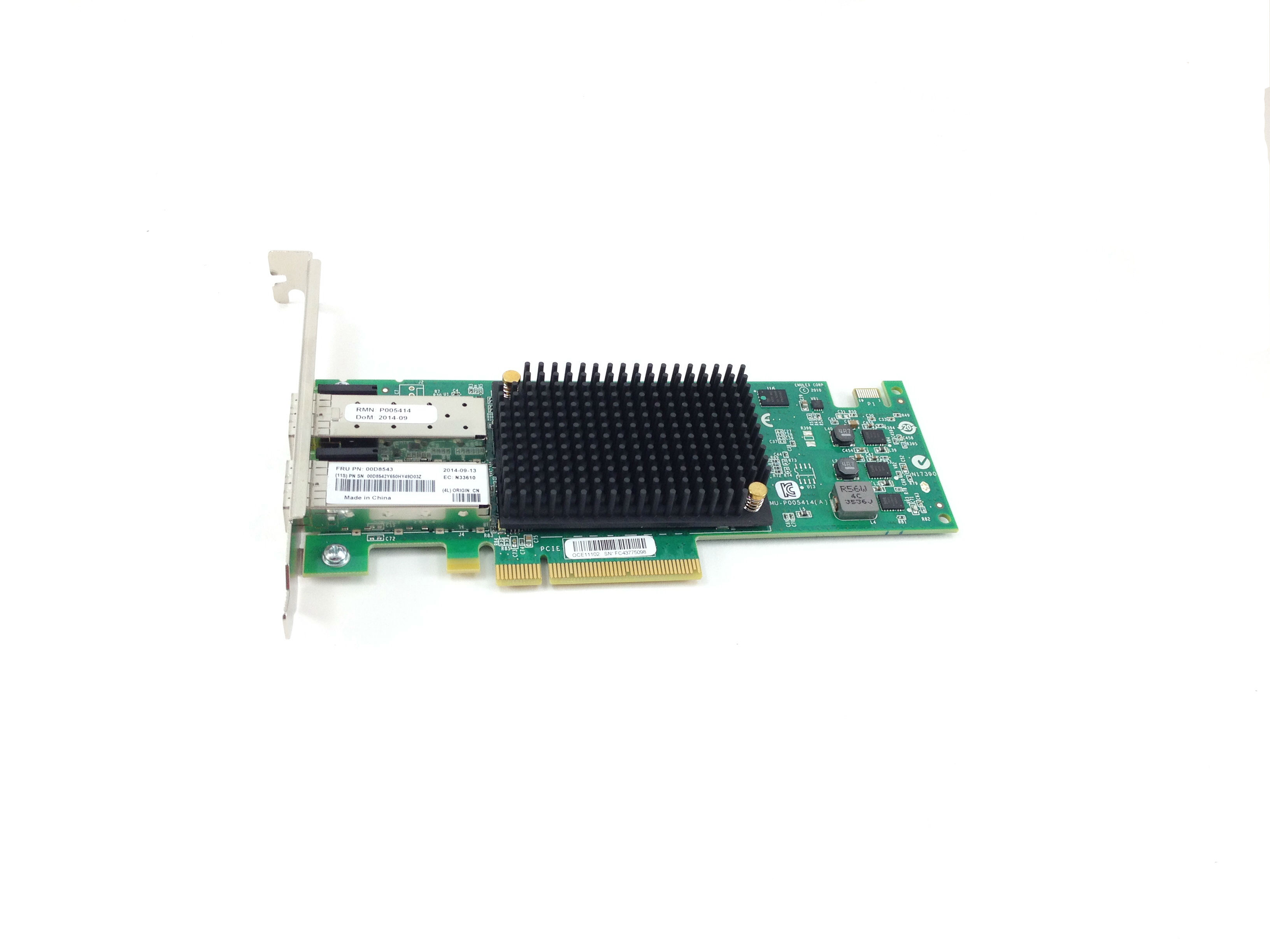 IBM 10GB Dual Port SFP PCI-E Virtual Fabric Adapter (00D8543)