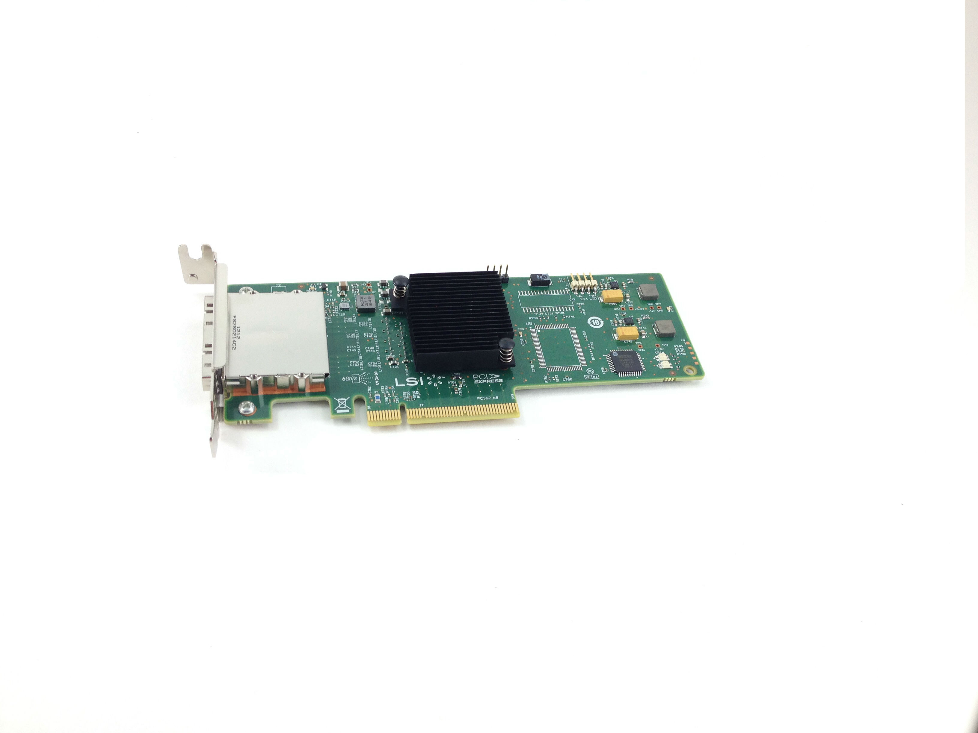 LSI 8 PORTS 6GBPS SAS HOST BUS ADAPTER (SAS9200-8E)