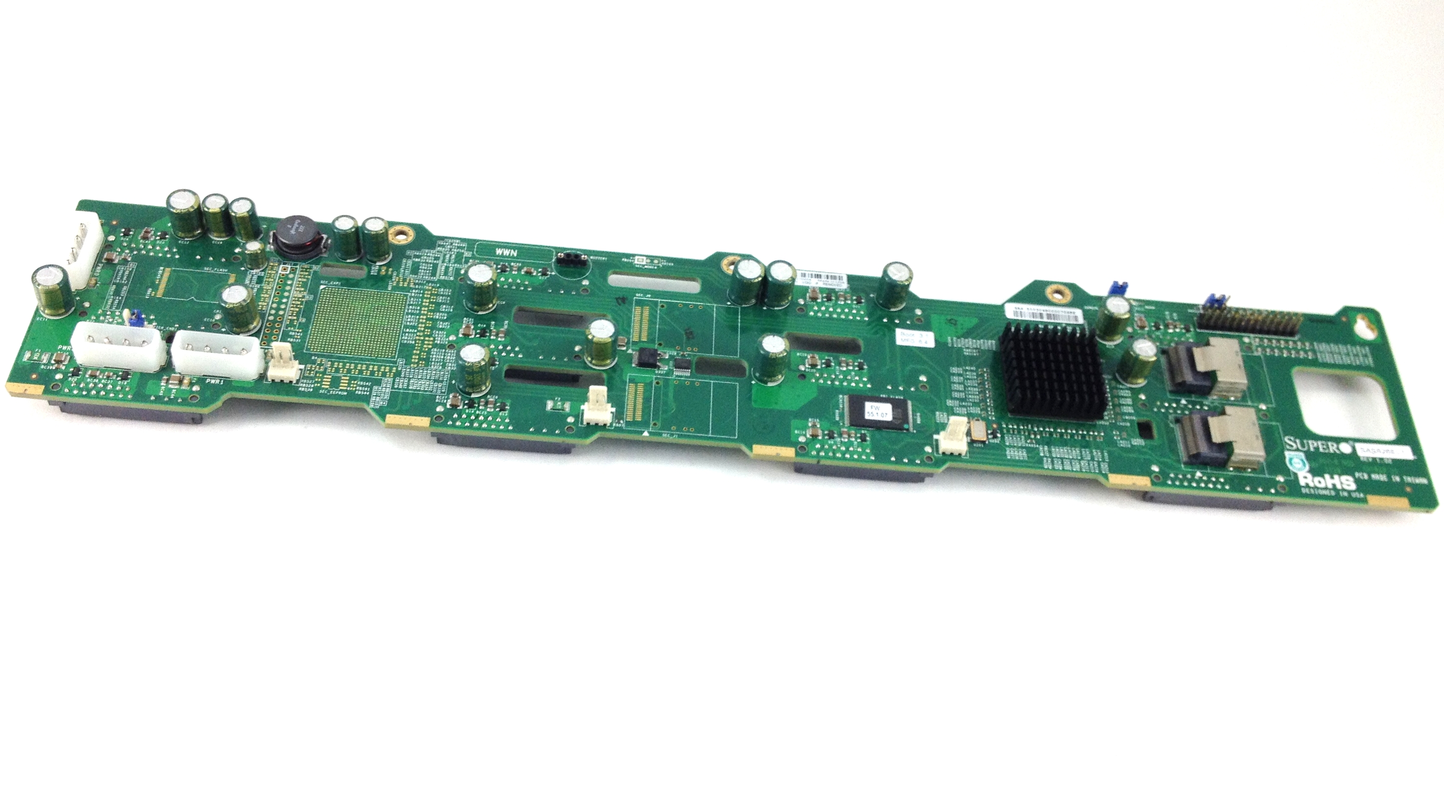 Supermicro SAS/SATA Hard Drive Array Expander Backplane (SAS826EL1)