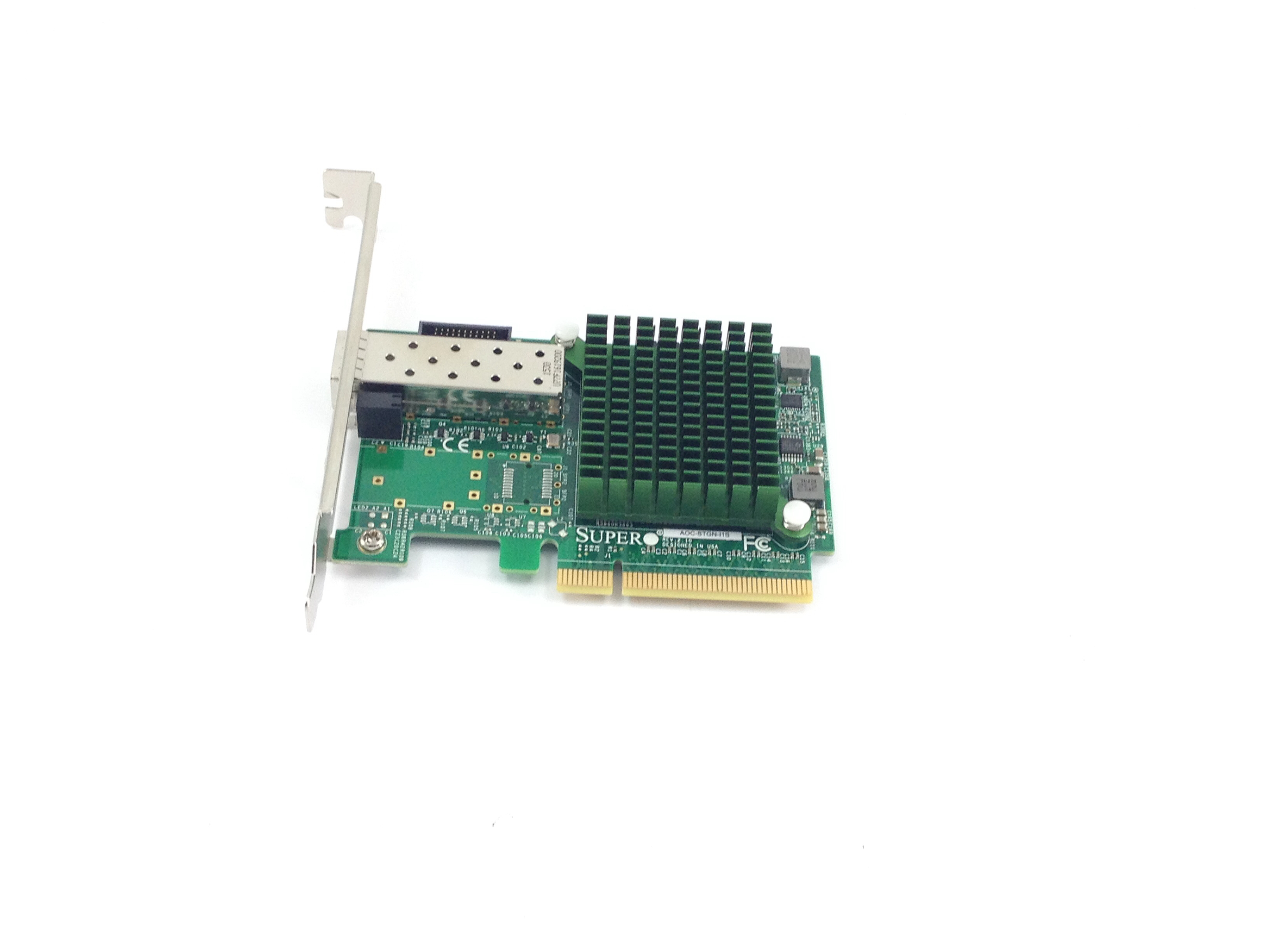 Supermicro  Single-Port 10 Gigabit Ethernet Adapter (AOC-STGN-I1S)