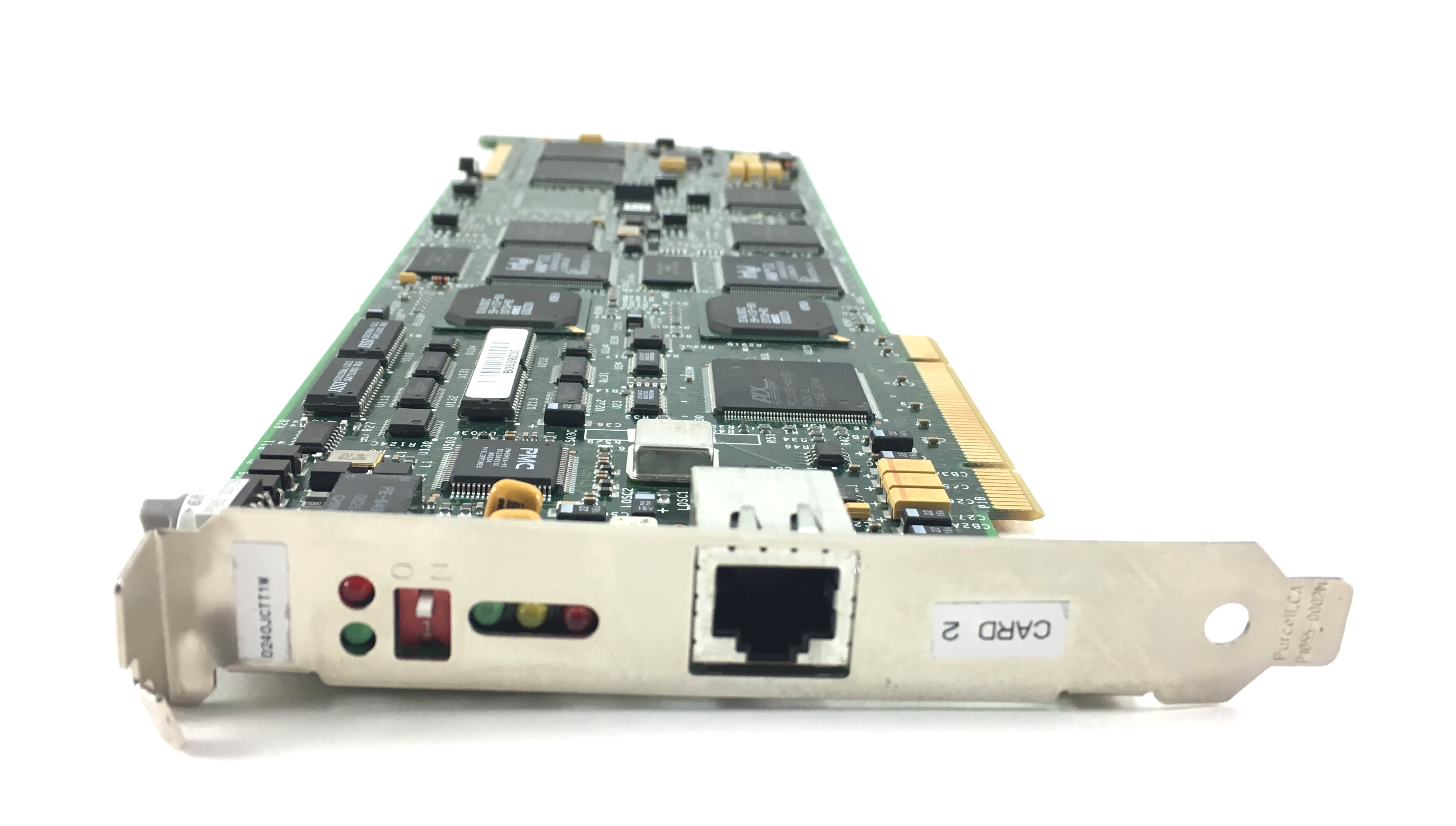 Dialogic Ti Span Single Port Voice Processing Card (04-1607-001)