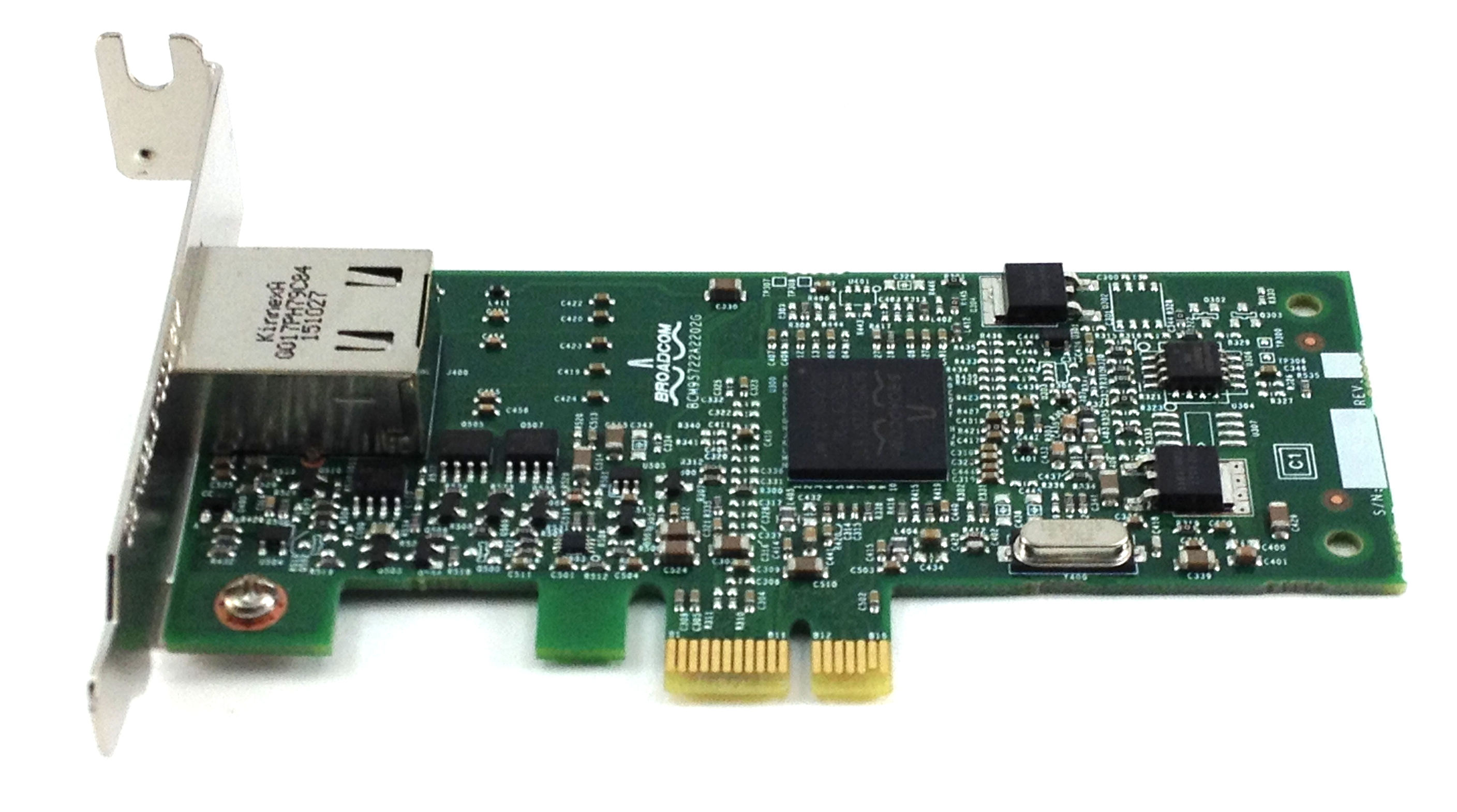 Dell Broadcom 5722 PCI-E Server Network Card (C71KJ)