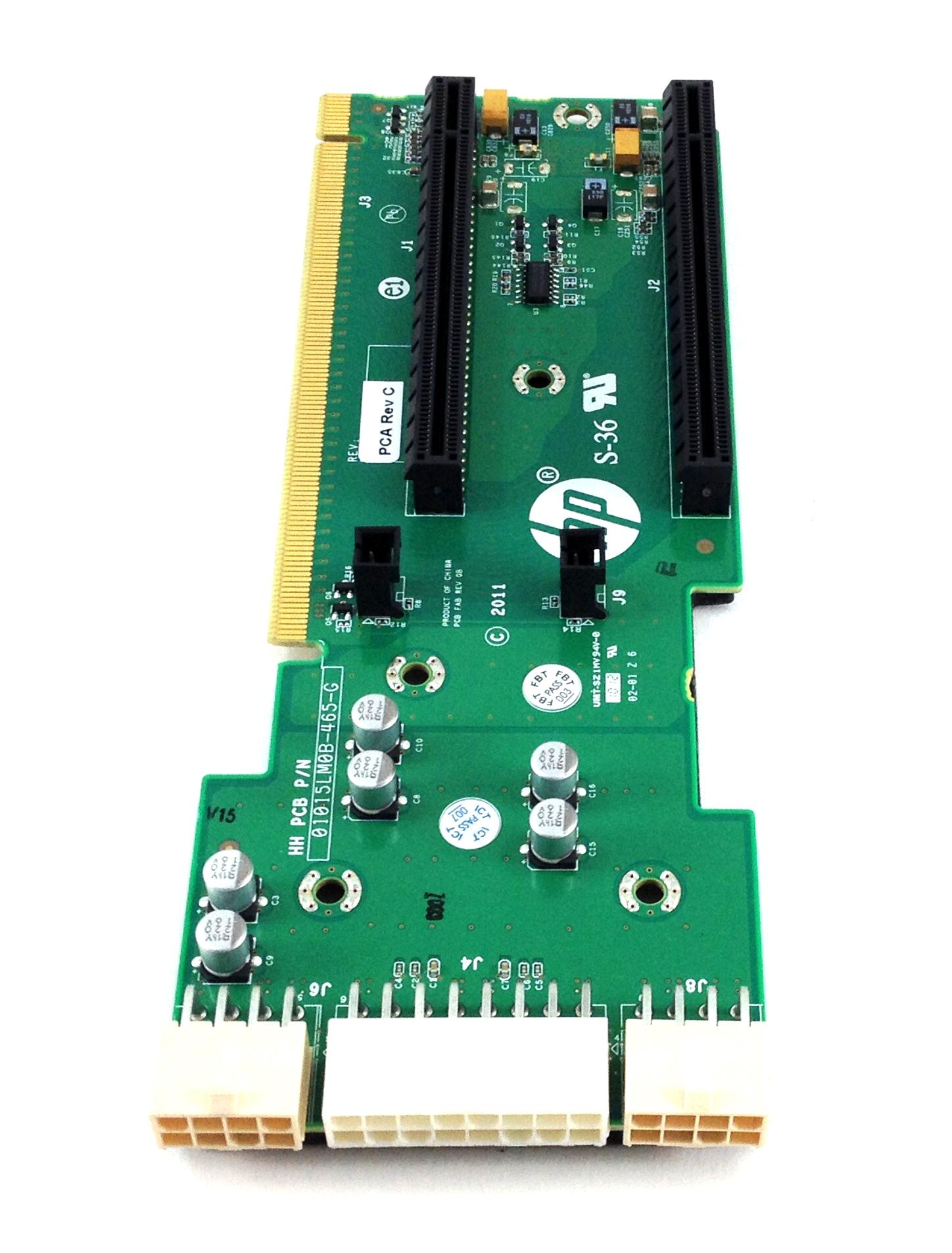 HP Rear Gpu Riser Card For HP Proliant Sl250S G8 Left (654509-001)