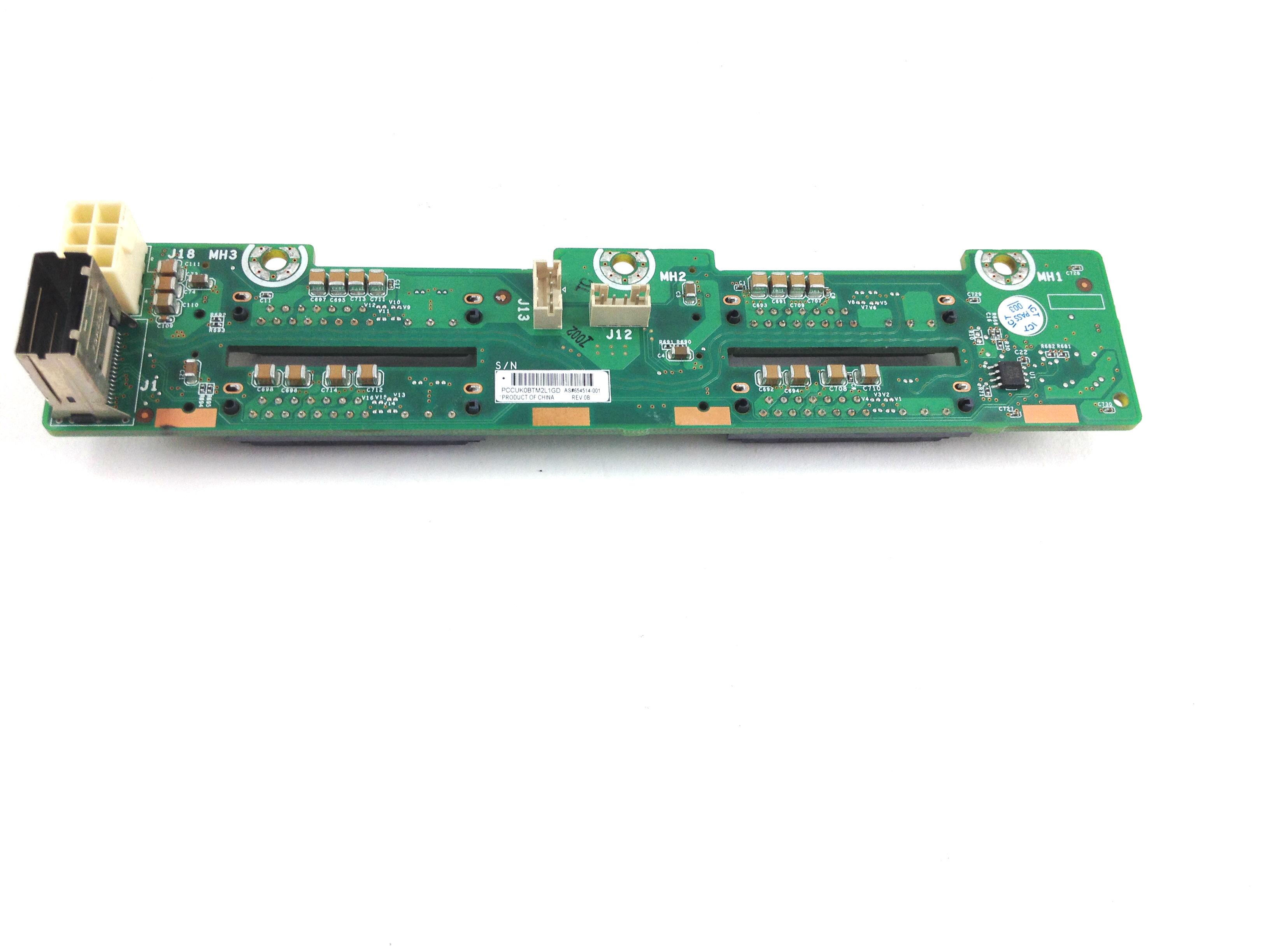 HP Sl250S G8 4 X 2.5'' HDD Bay Backplane Board (654514-001)