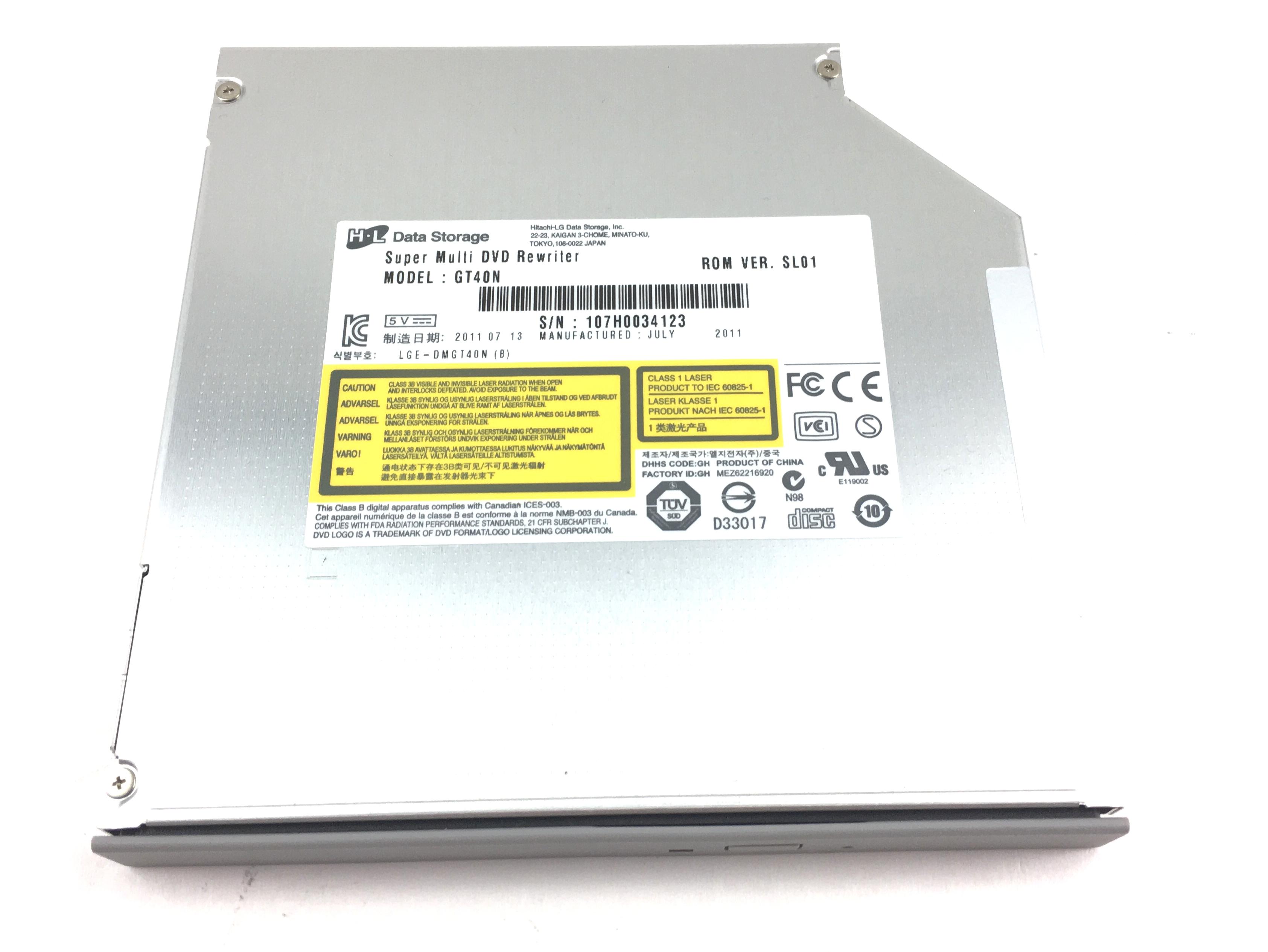 HItachi LG Super Multi DVD Rewriter LGE-DMGT40N (GT40N)