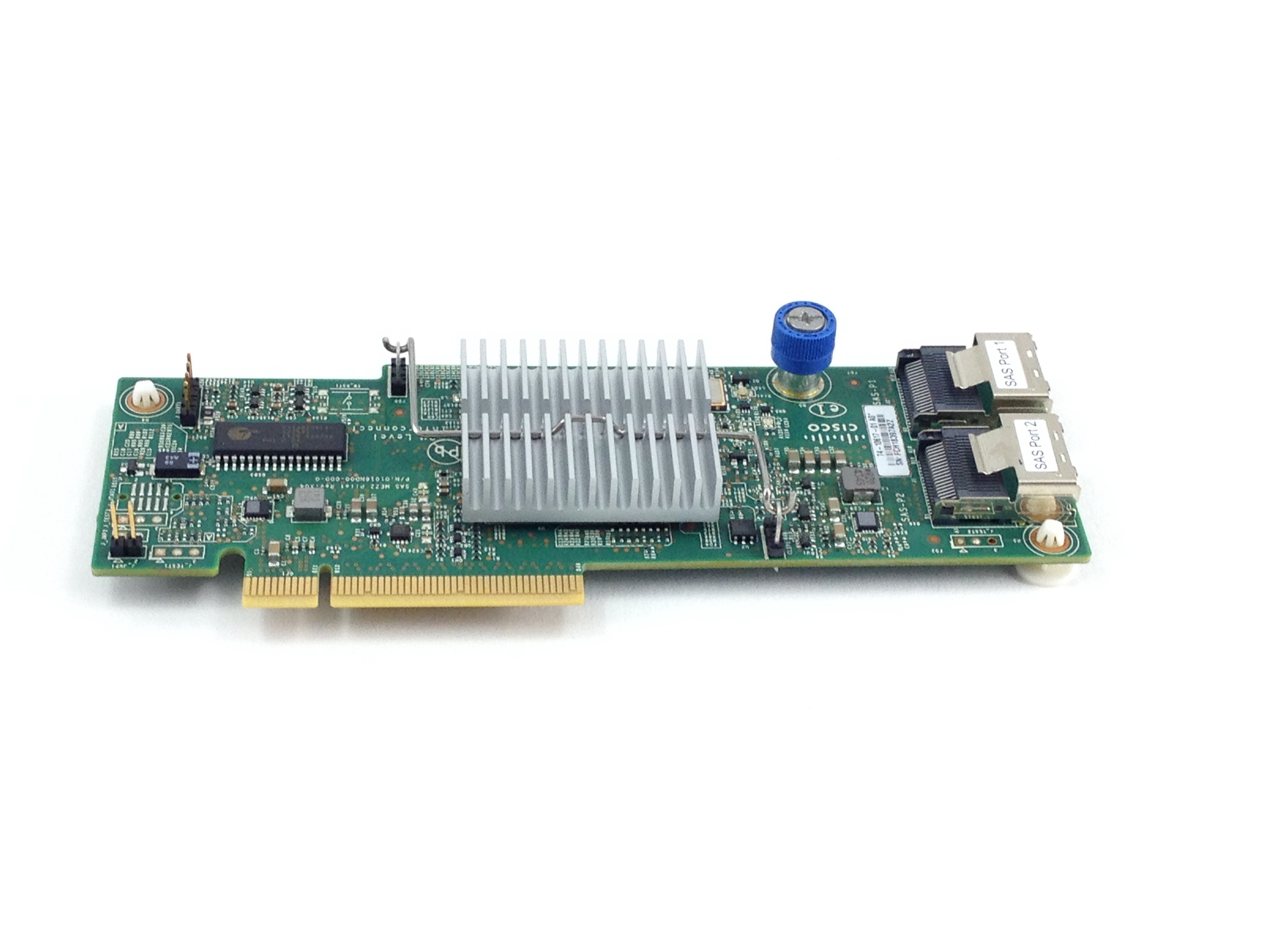 CISCO 2008M-8I DUAL PORT SAS CONTROLLER CARD PLUG-IN MODULE (74-10617-01)