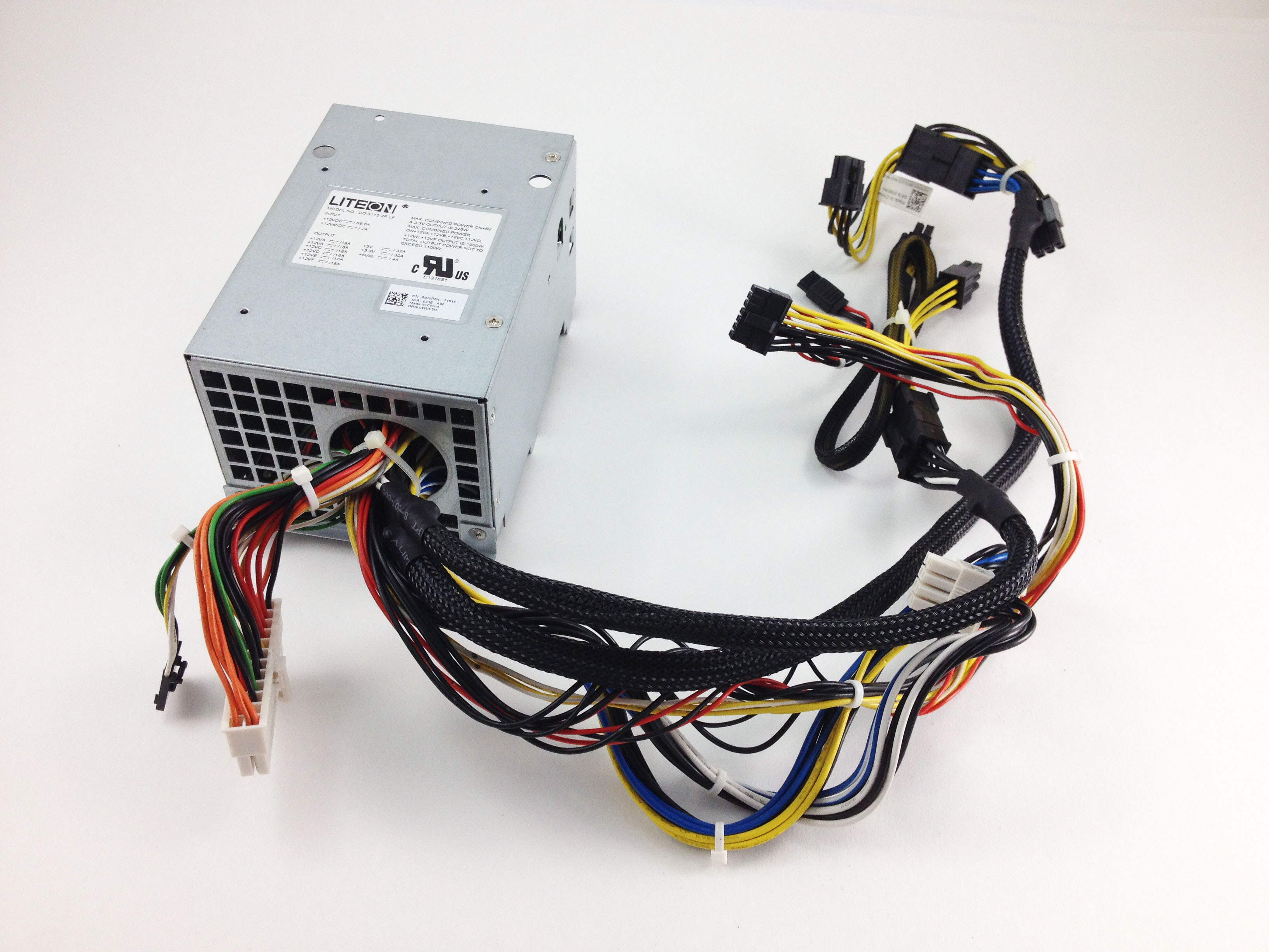 Dell Precision R5500 WorkStation Power Distribution Board w/ Cables (WVP2H)