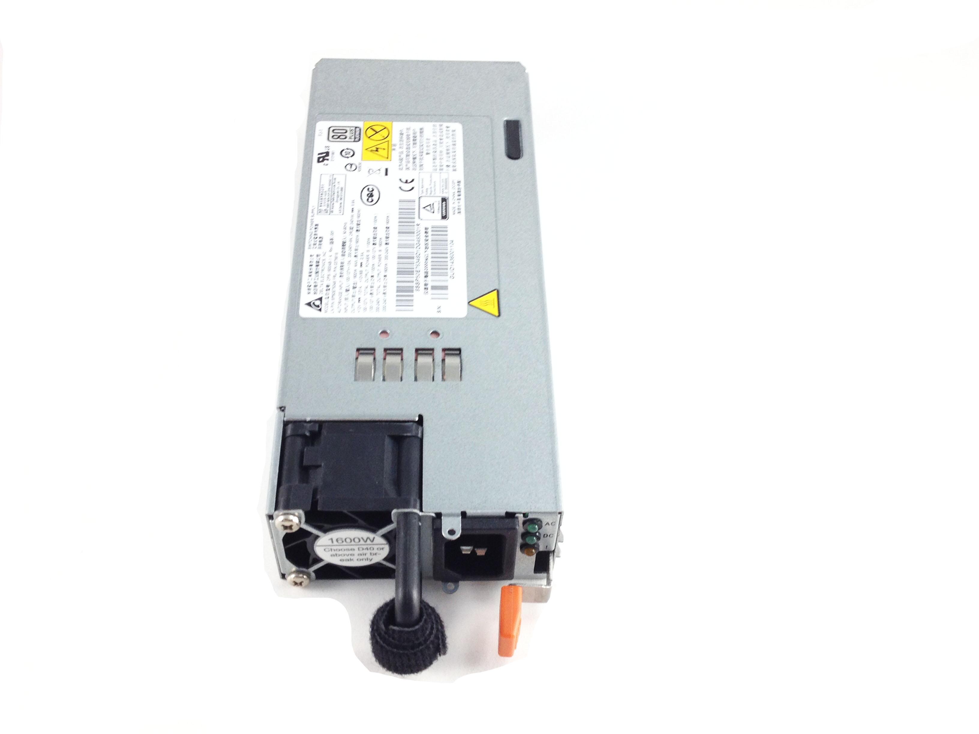Lenovo ThinkServer Rd550 RD650 1600W Hot Swap Power Supply (03T8619)