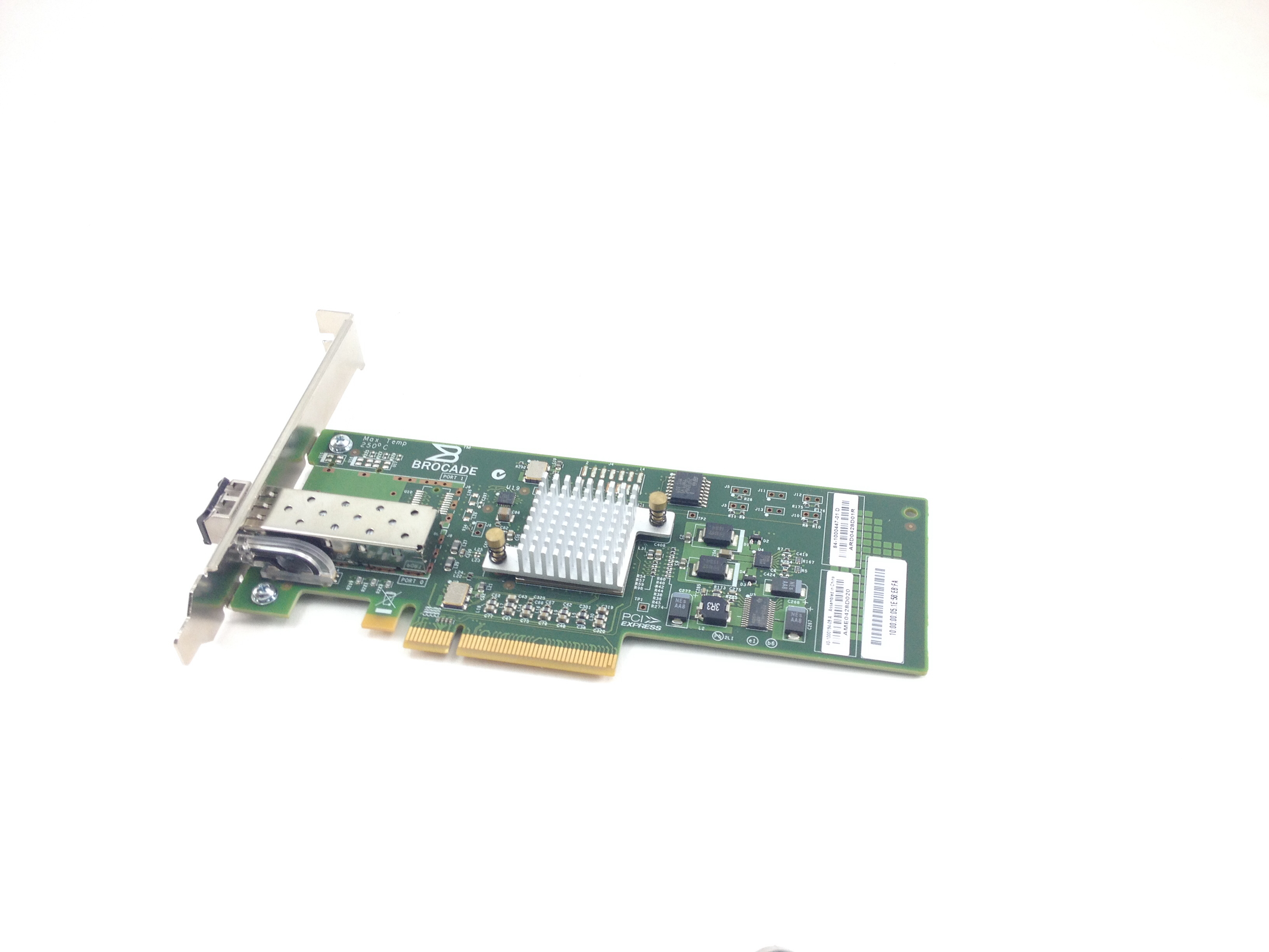 Brocade 8GB PCI-E Fibre Channel Single Port Host Bus Adapter (84-1000447-01)