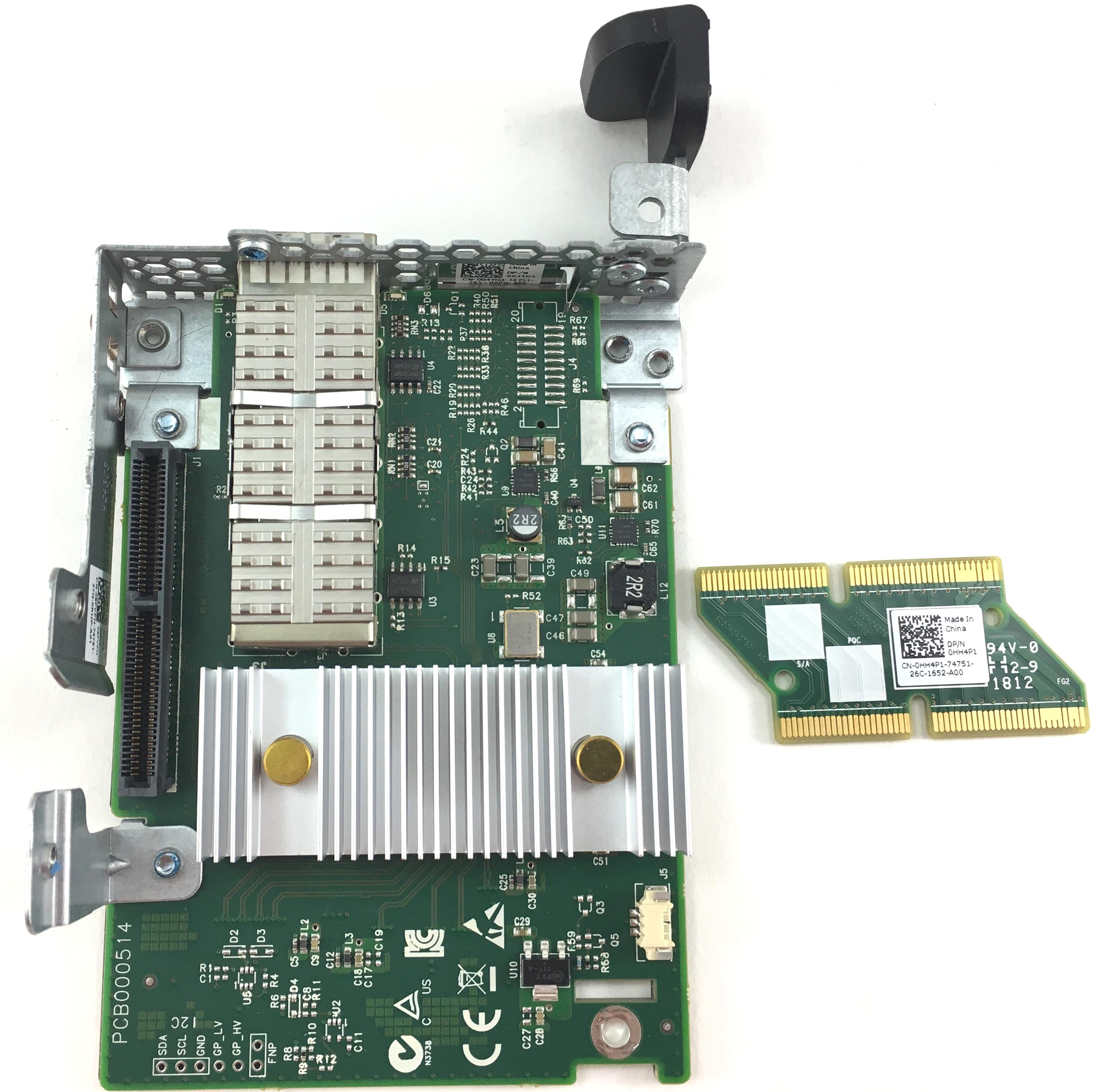 Dell 1 Port Mini PCI-E 1GBps QSFP Mezzanine Card PowerEdge C6220 (G4YH3)
