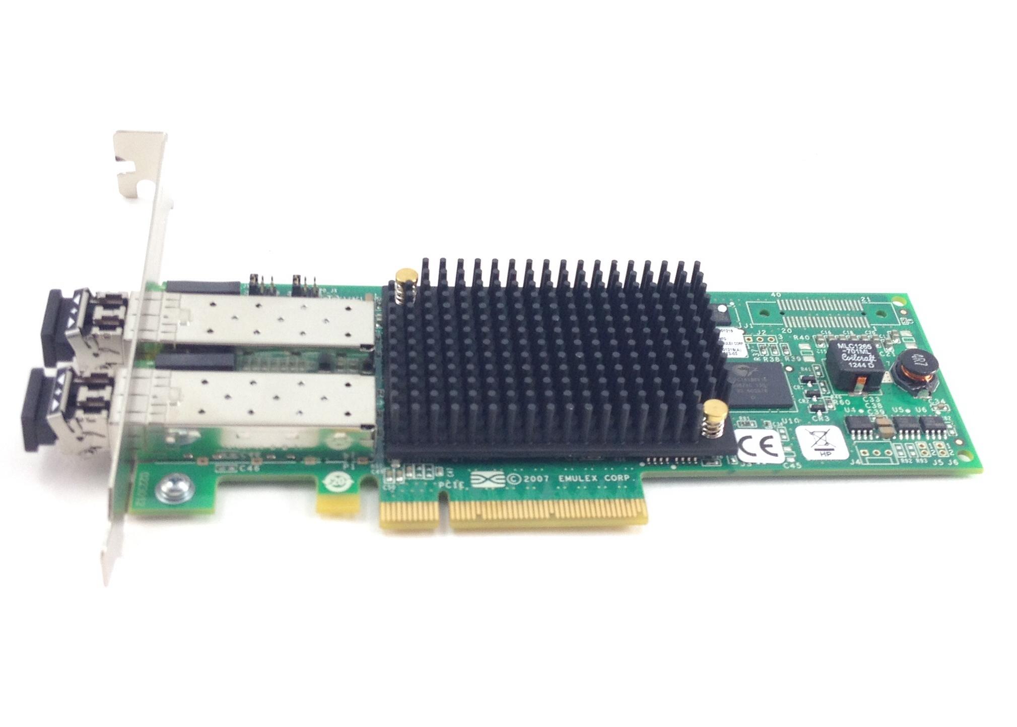 HP Emulex 82E 8GB Dual Port Pci0E 2.0 X Fibre Channel Host Bus Adapter (697890-001)