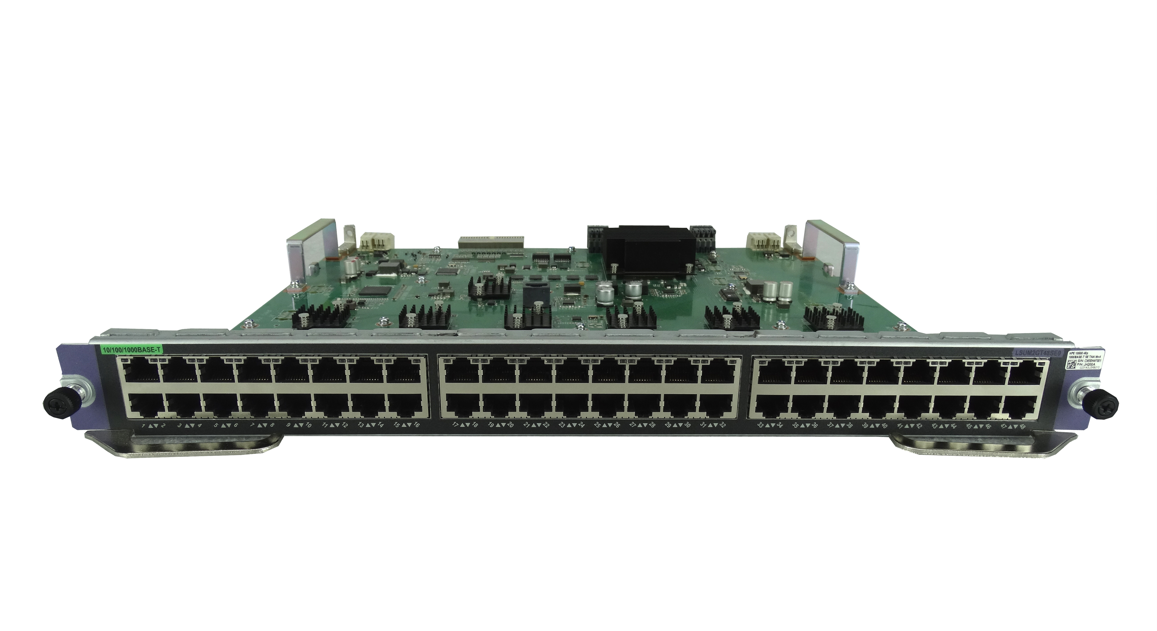 HPe 10500 48-Port 1000Base-T SE Expansion Module (JH200A)